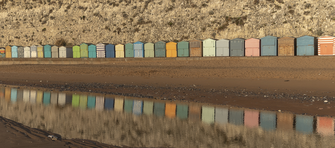 Early morning reflection at Stone Bay.