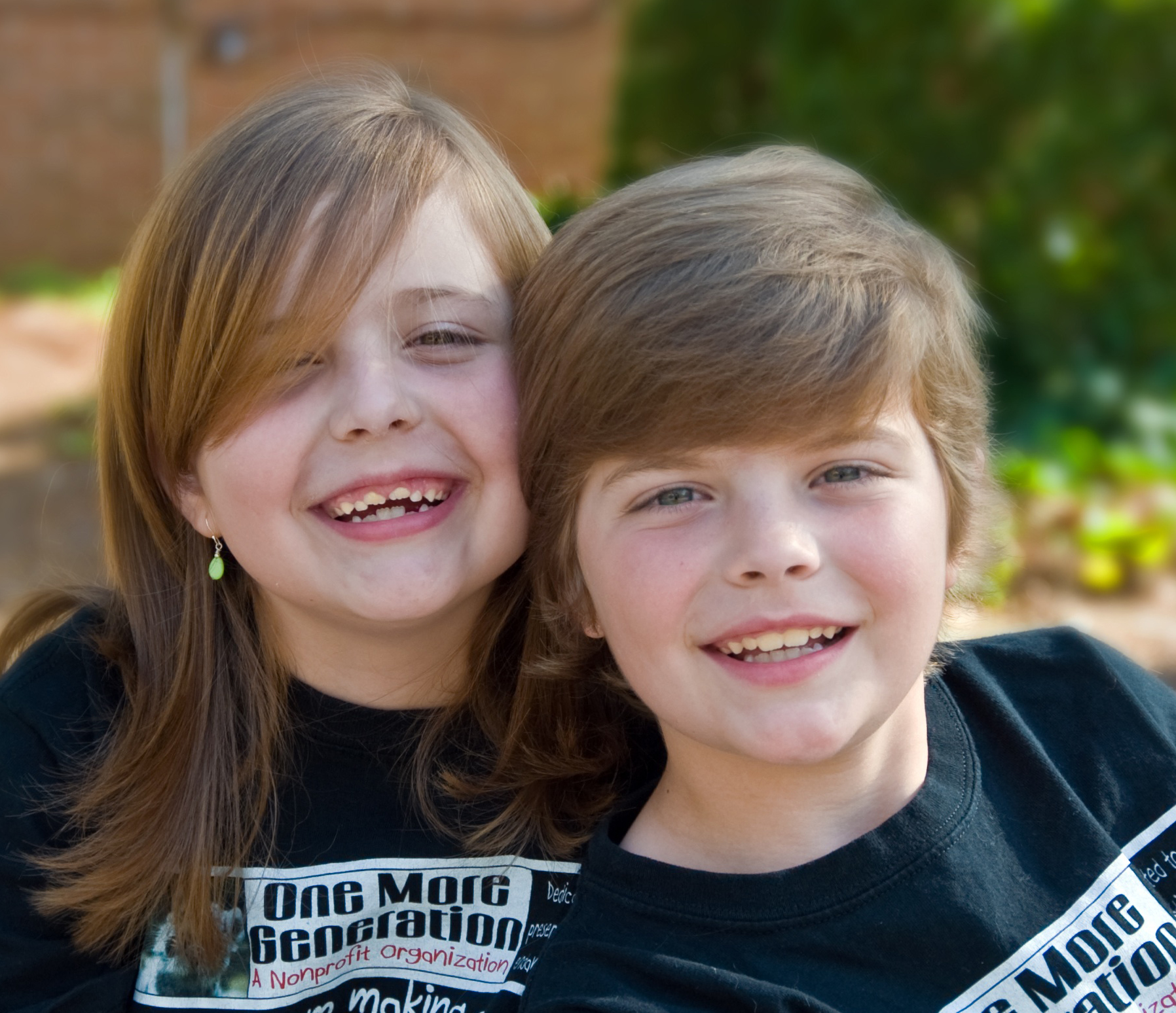Olivia and Carter Ries, when they founded OMG