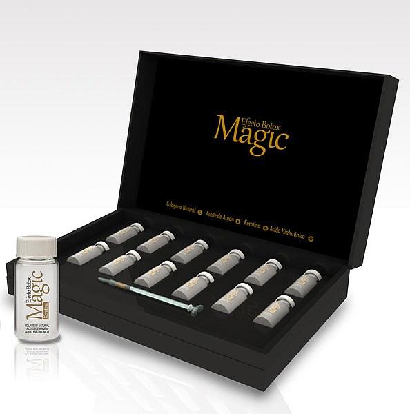 MAGIC BX GOLD  Efecto botox capilar de larga duración. Sistema redensificador capitar en 4 pasos.