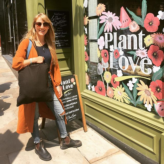 Plant Love with beautiful @katiesmindfulkitchen 💖🌱💚 #plantbased #london #friends #hampstead #nutritionist