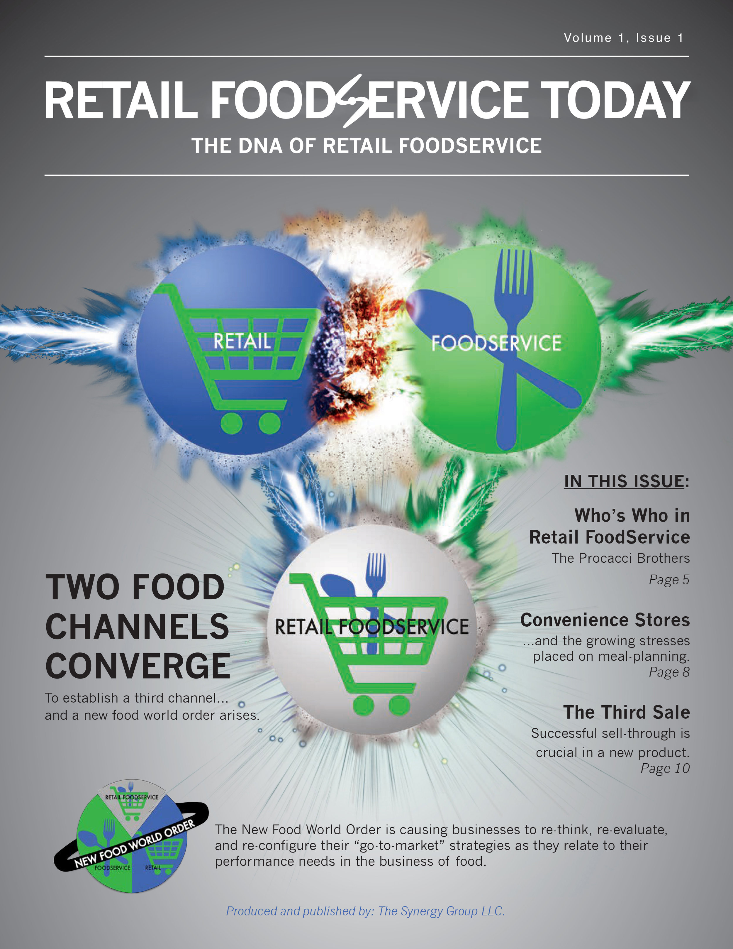 Retail food service today:  a synergy group publication