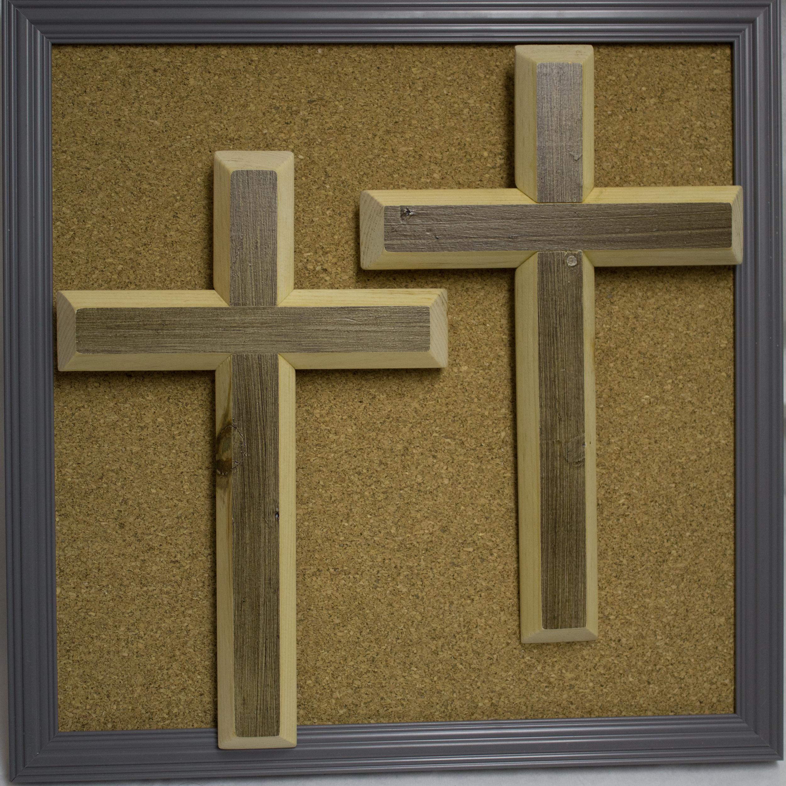 Reclaimed wood crosses - $15 each