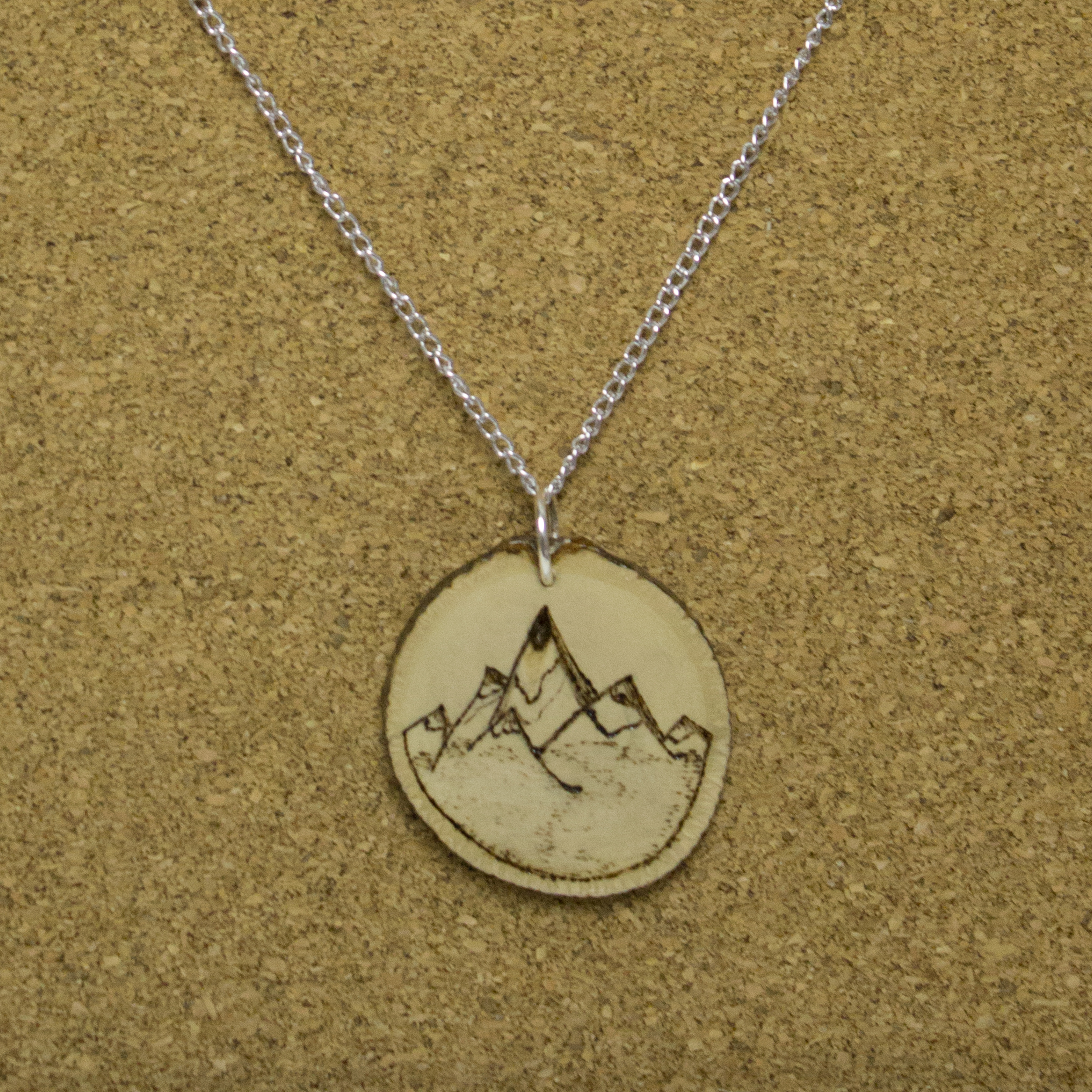 Burned Mountain Peak - $15