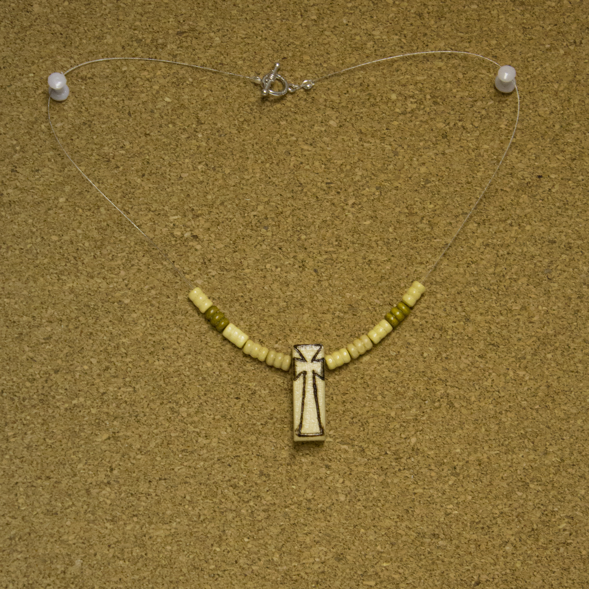 Cross Necklace - $5