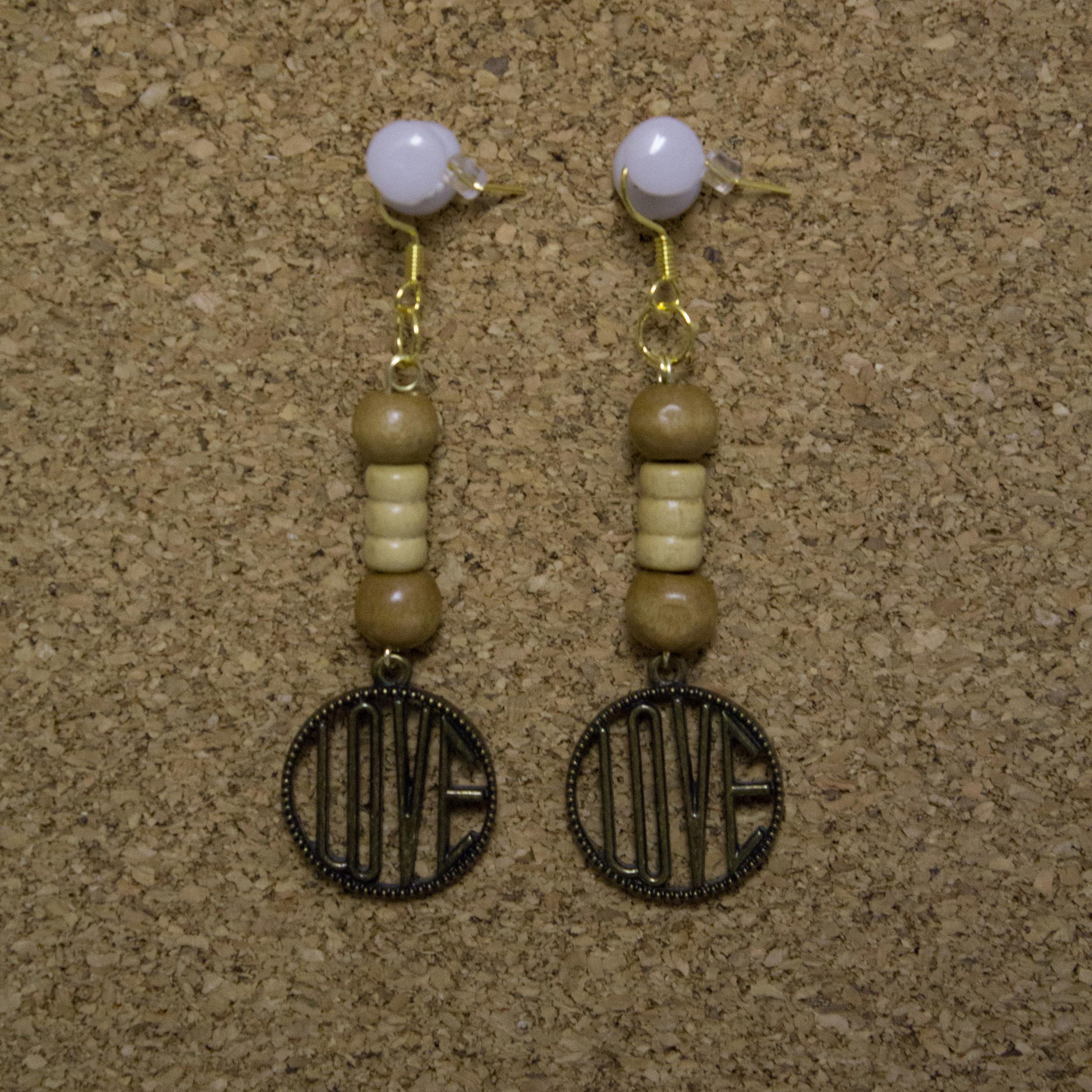 Love Earrings - $5