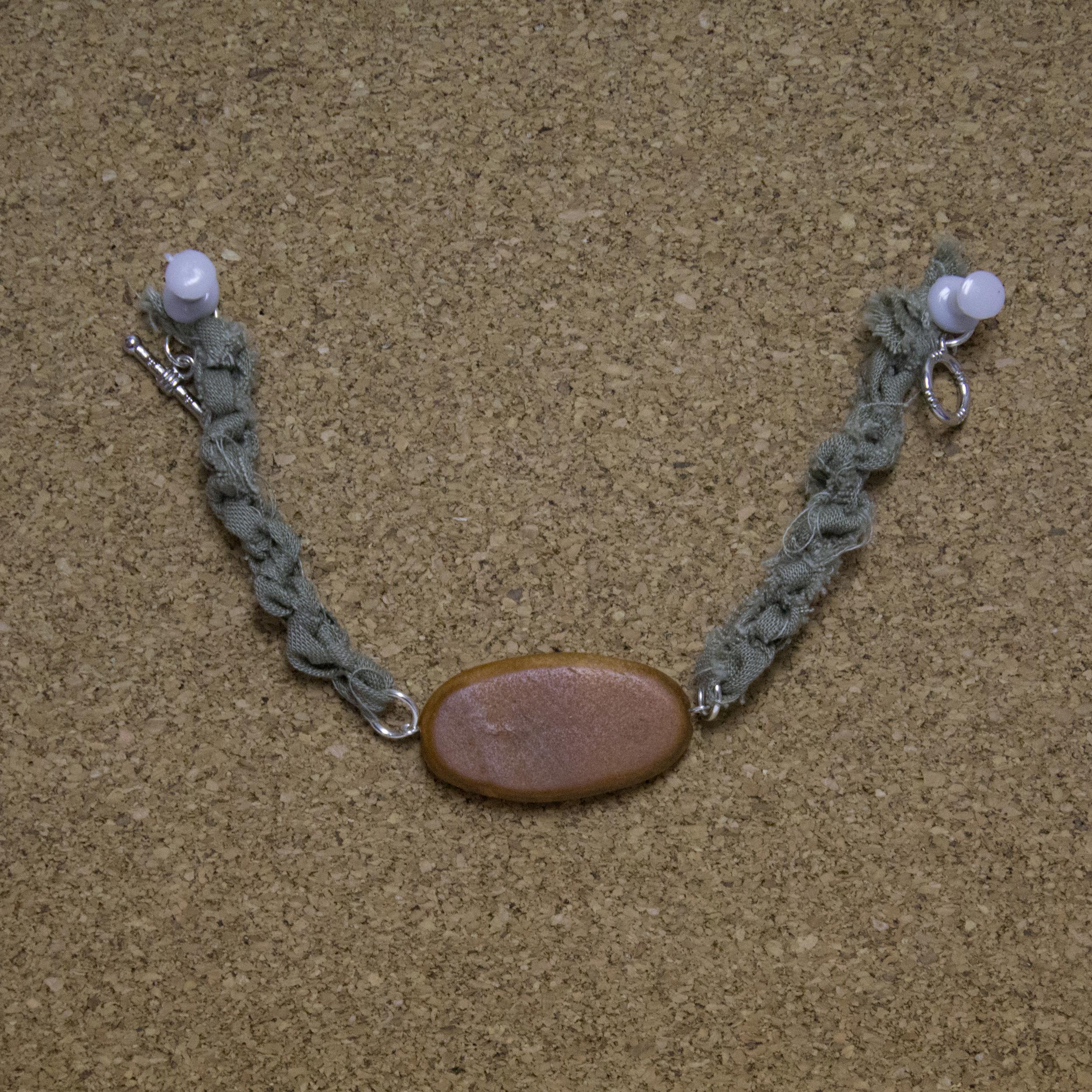 Flat Oval Bracelet - $5