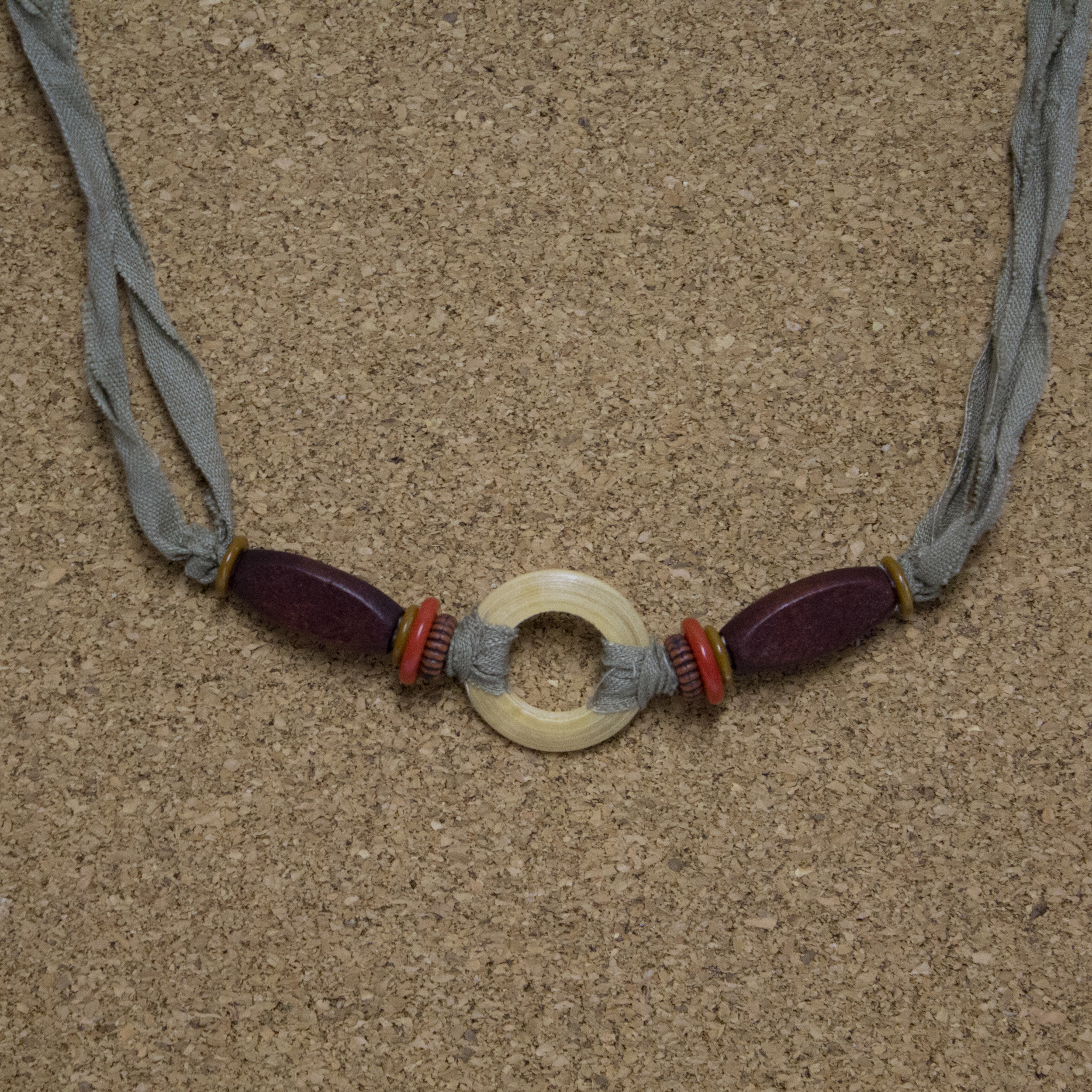 Wood Eye Bracelet - $5