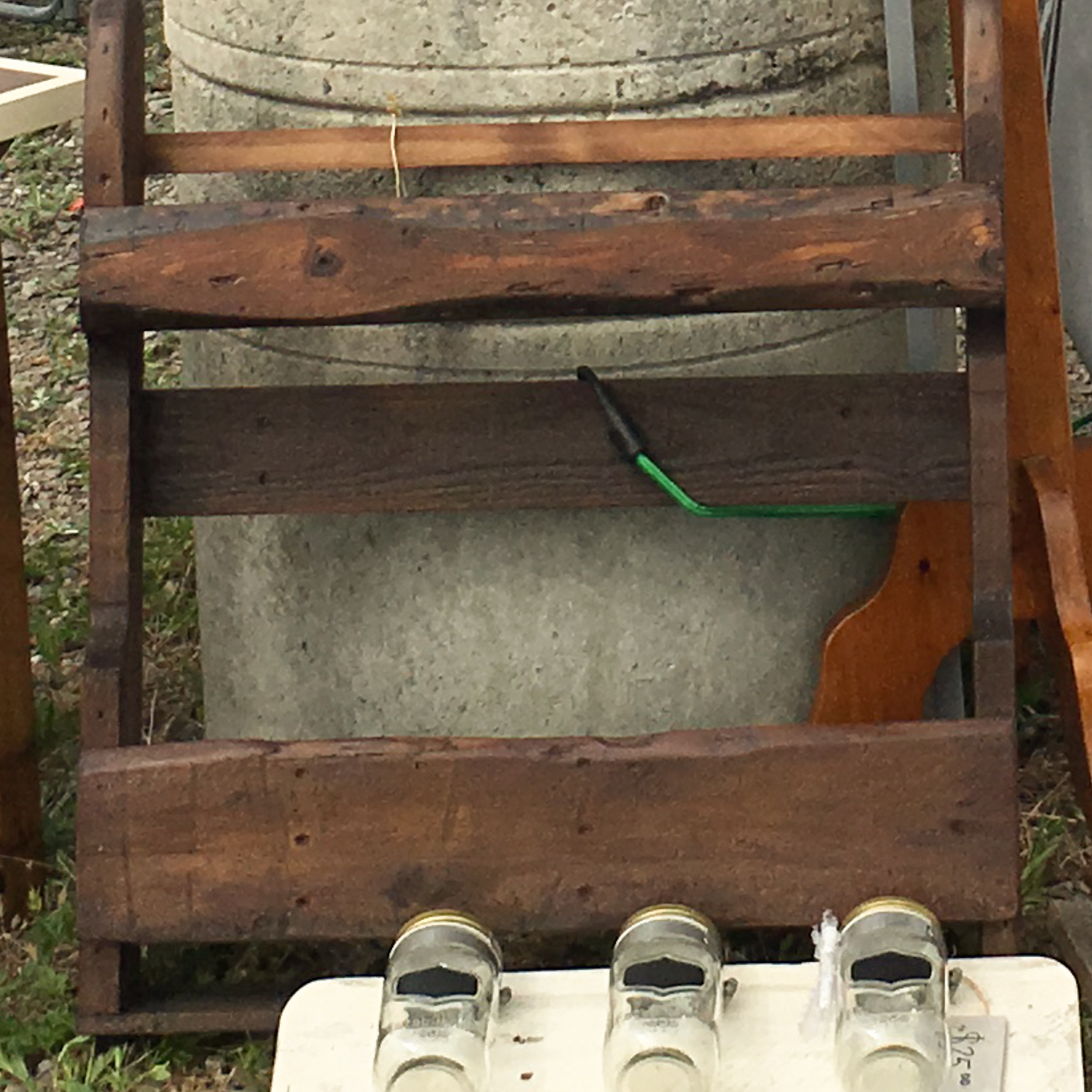 Rustic Wine Rack - $50