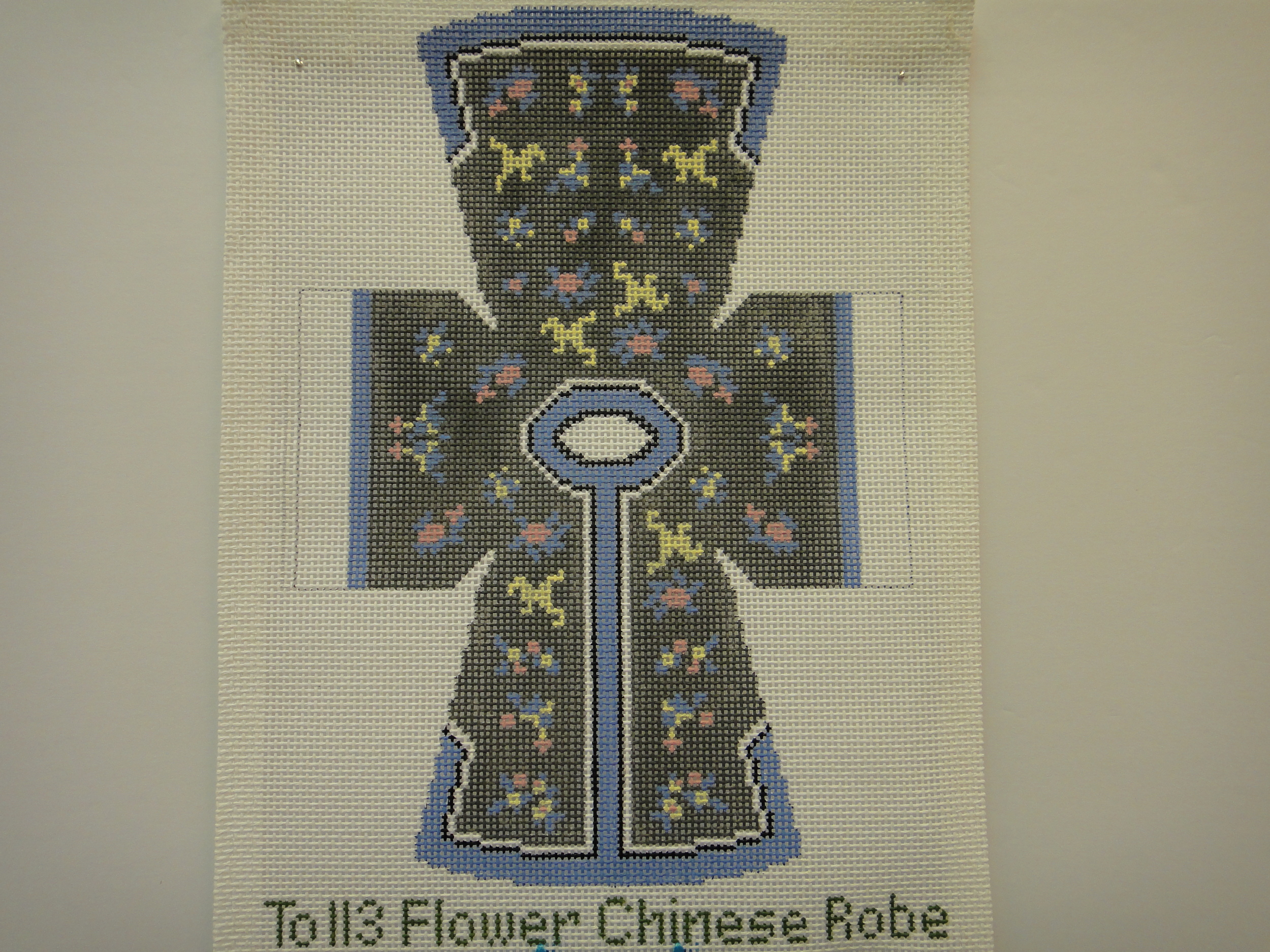 To113 Flower Chinese Robe