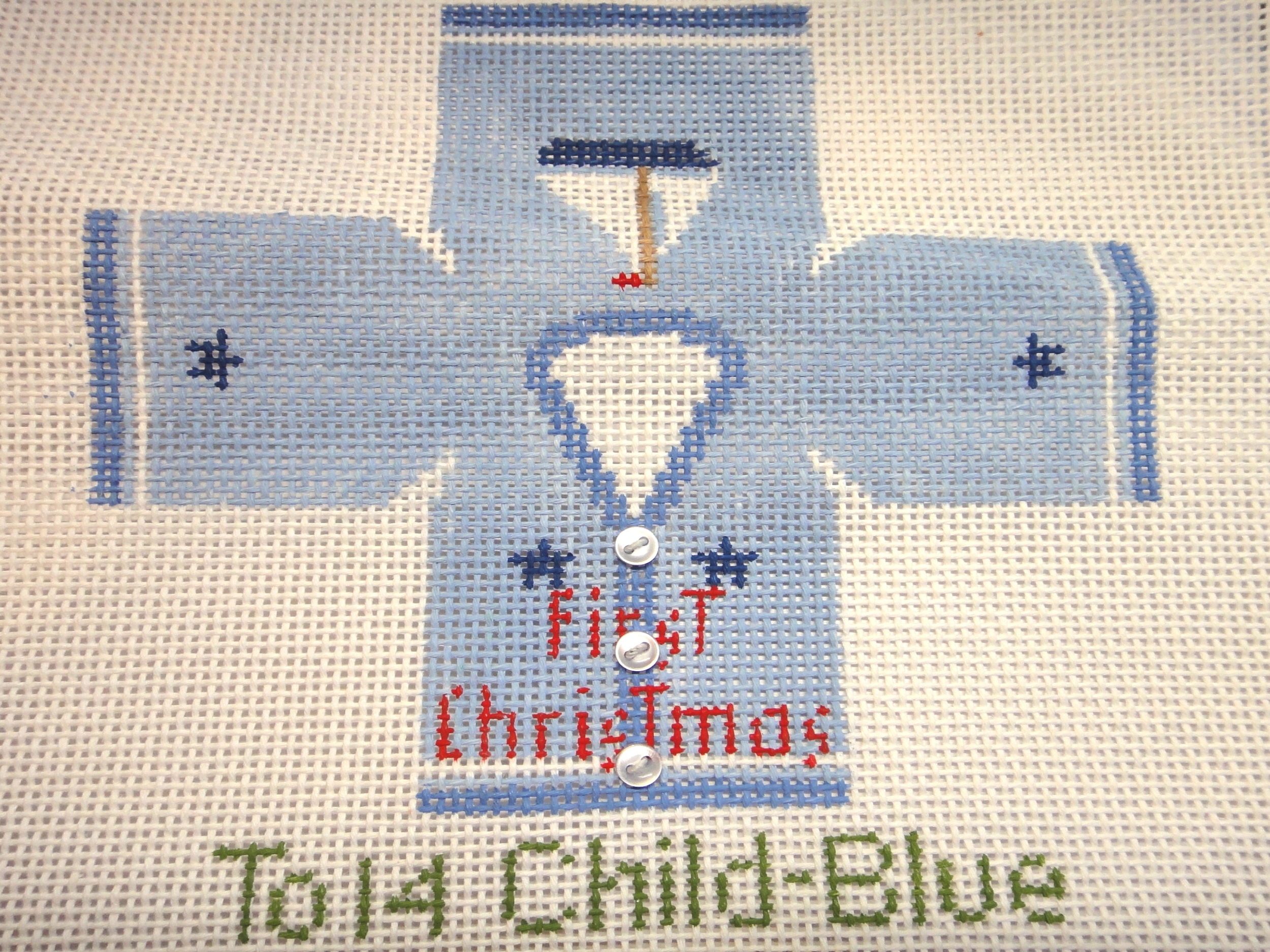 To14 Child Sweater-Blue