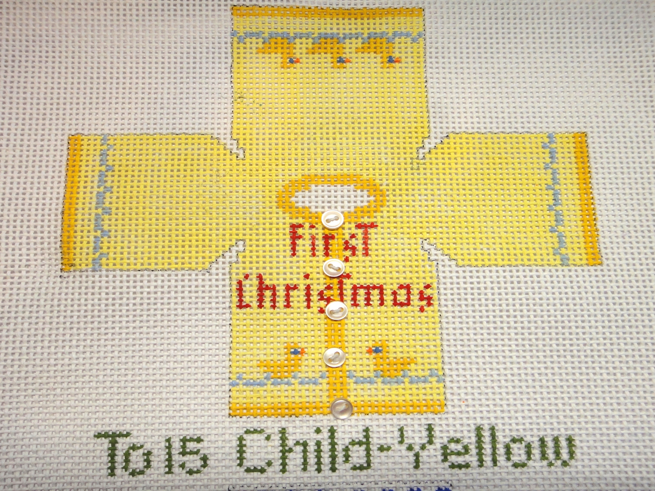 To15 Child Sweater - Yellow