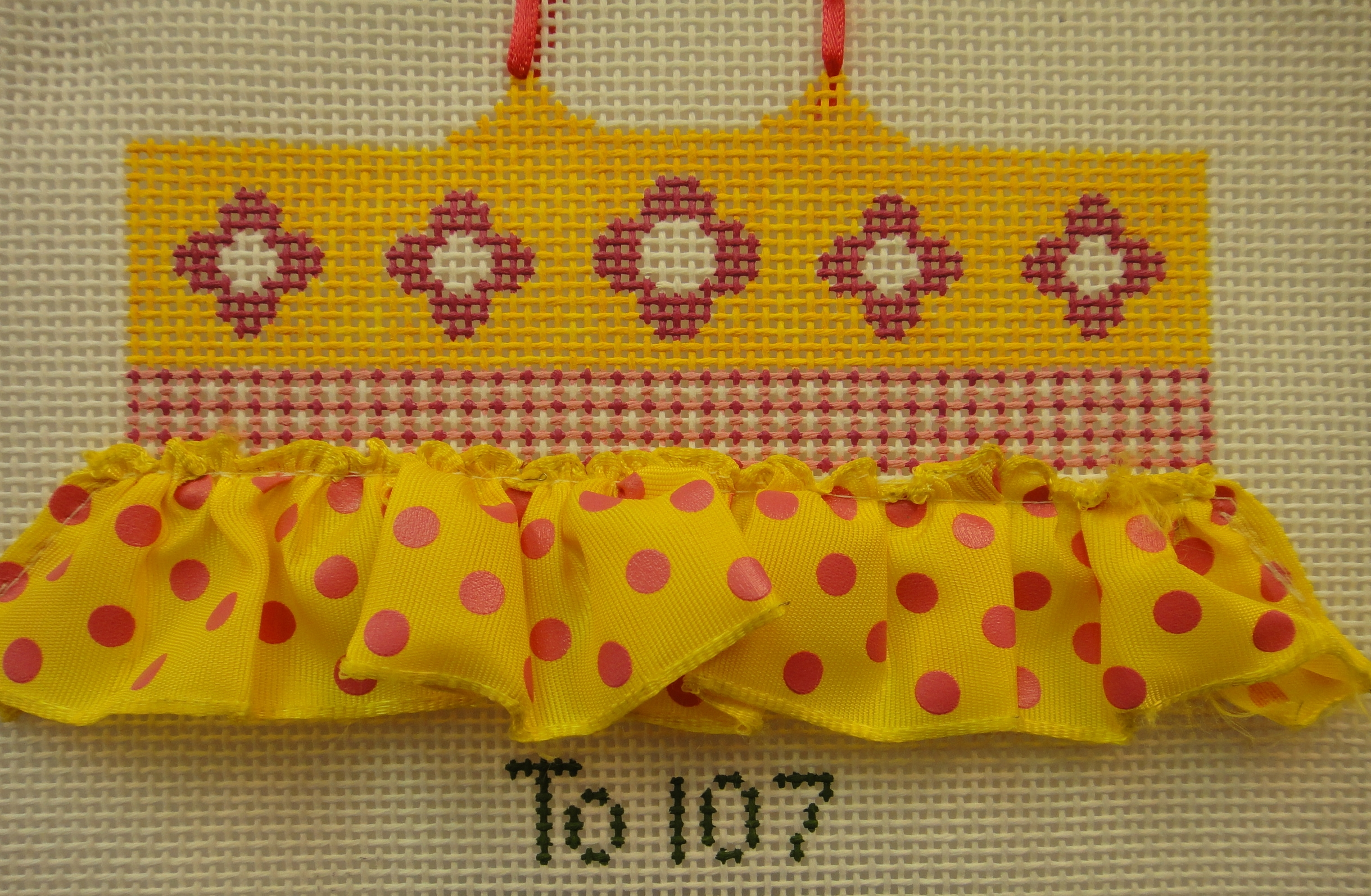 To107 Yellow/Pink Ballerina