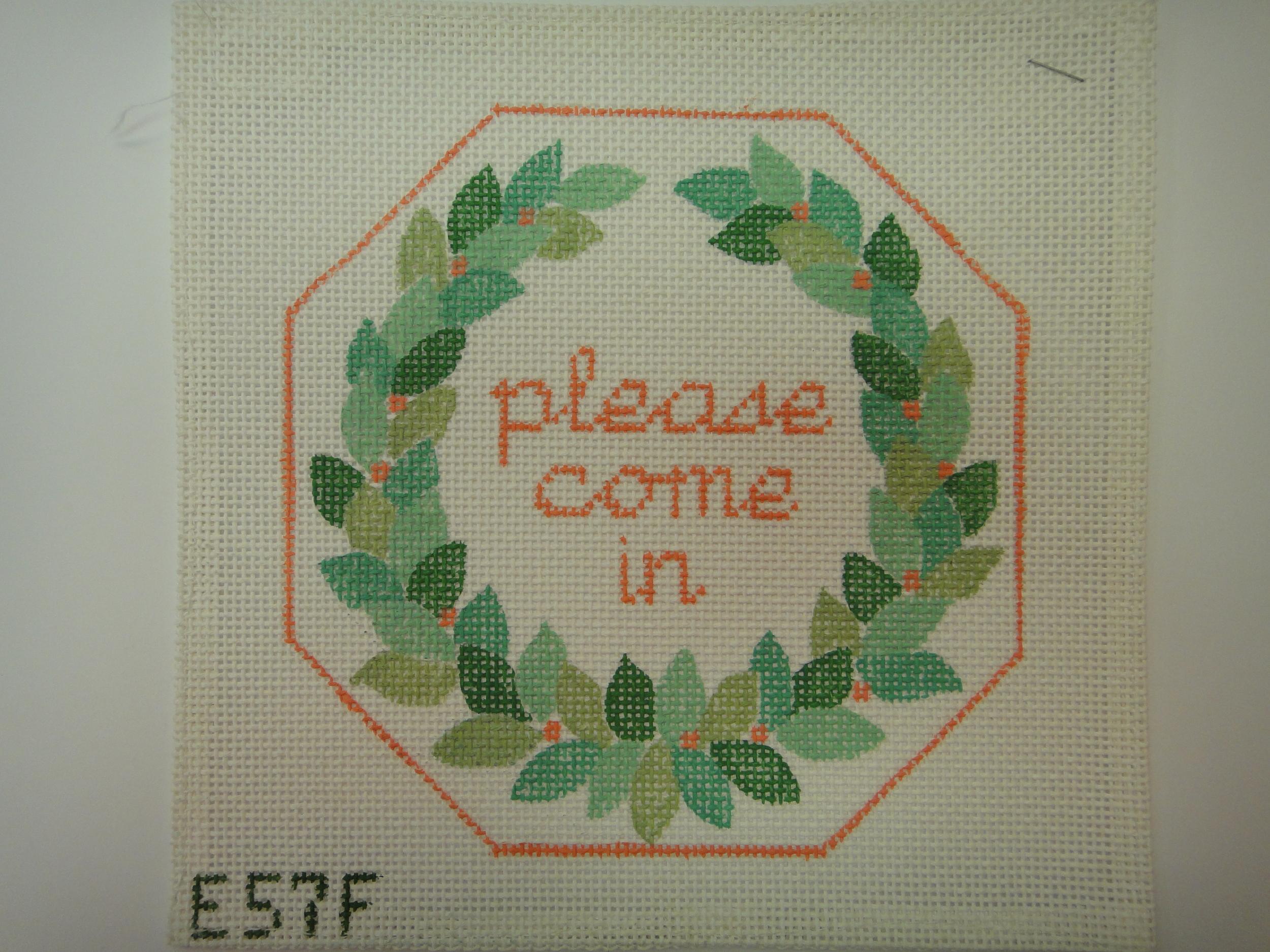S30F Please Come In, Wreath (7x7)