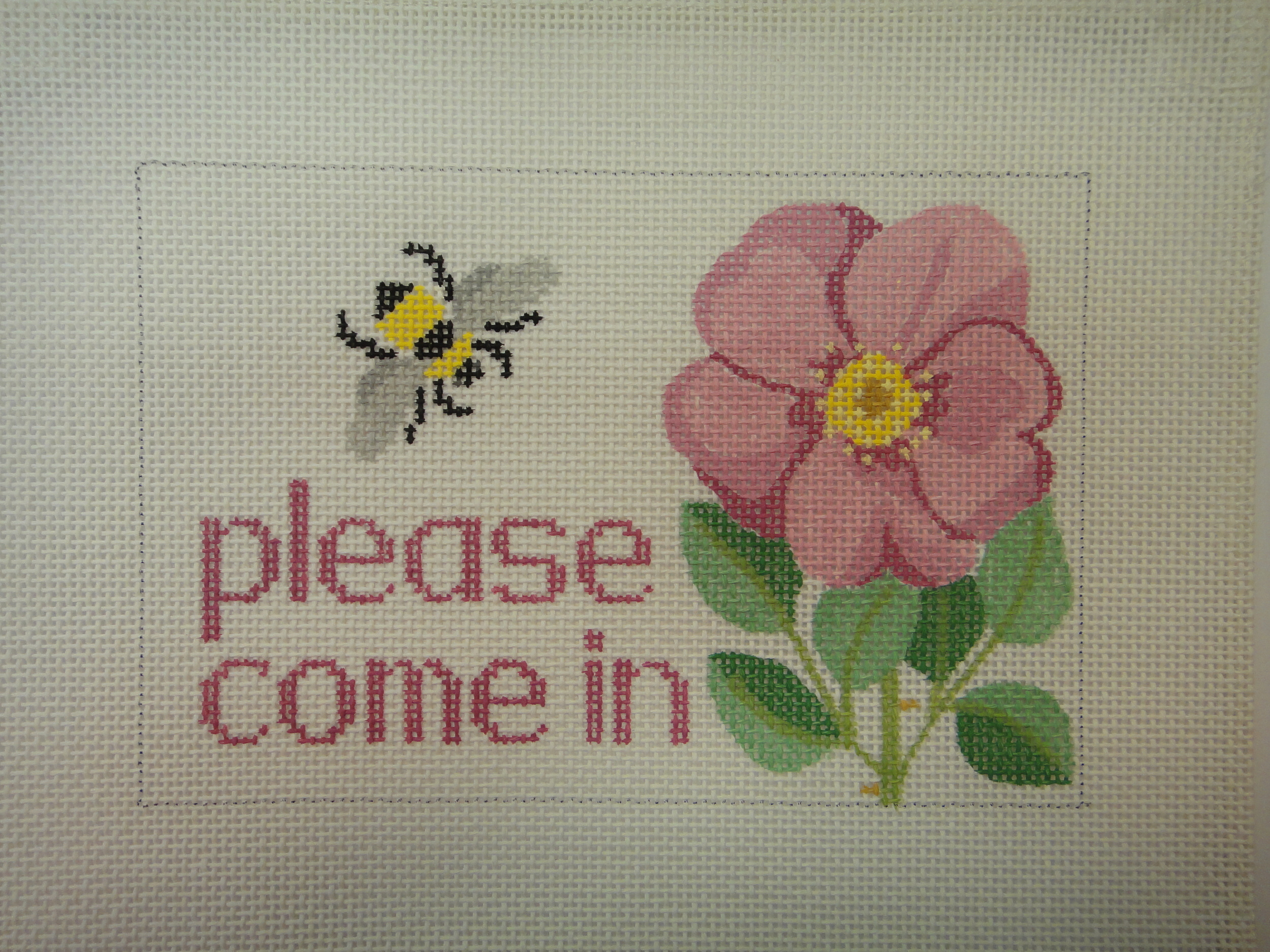 S45 Rose/Bee Come In (8x5)
