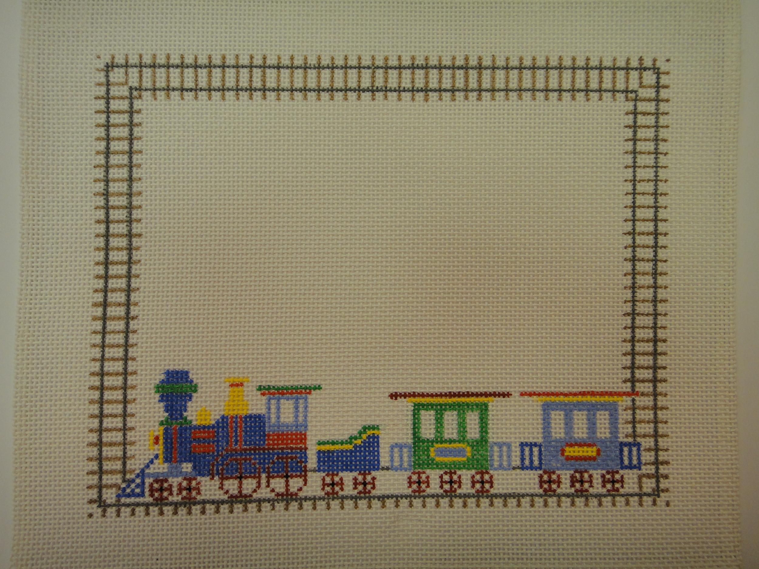 C14 Train Birth Announcement (10x8)