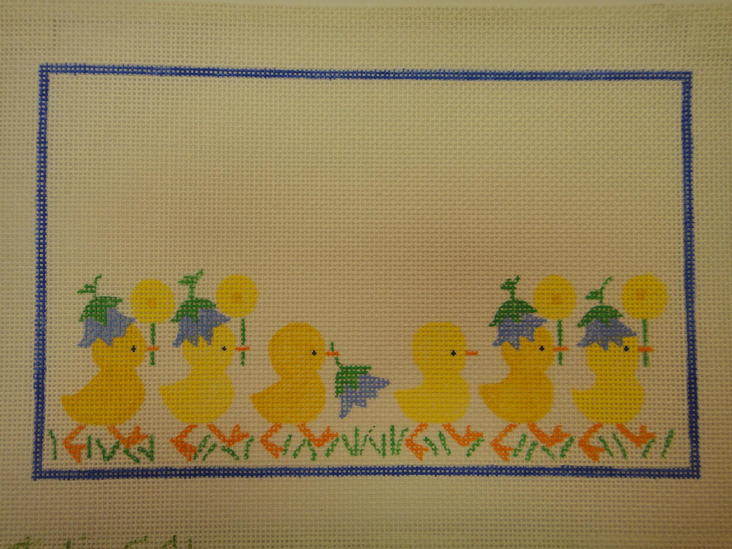 C41 Ducks Birth Announcement (11x7)