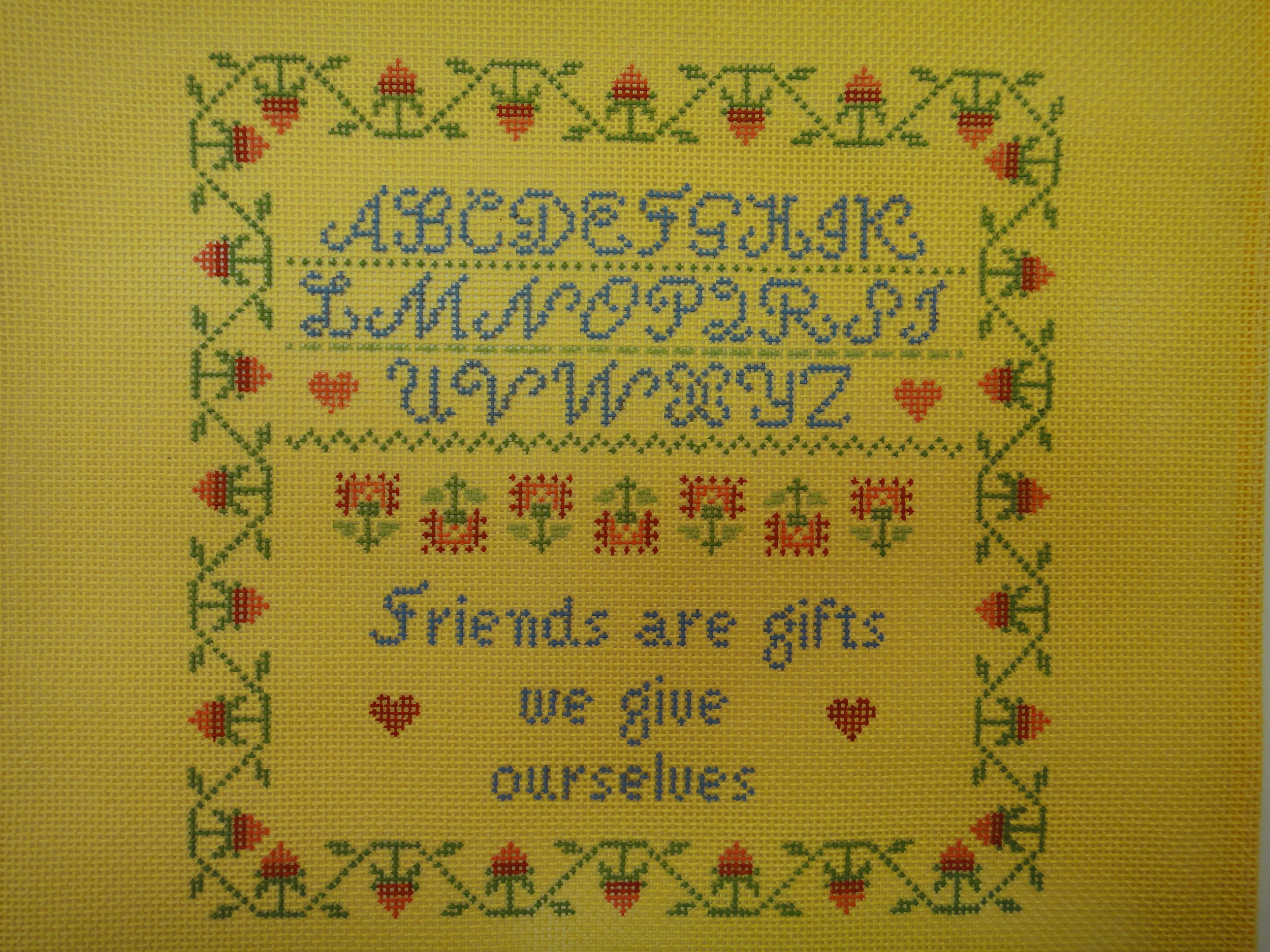 S3 Friends are Gifts (7x7)