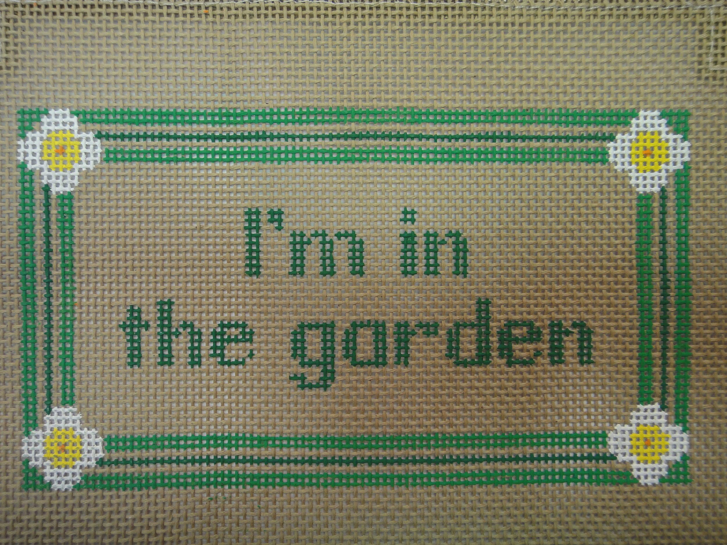 S33 I'm In The Garden (7x4)