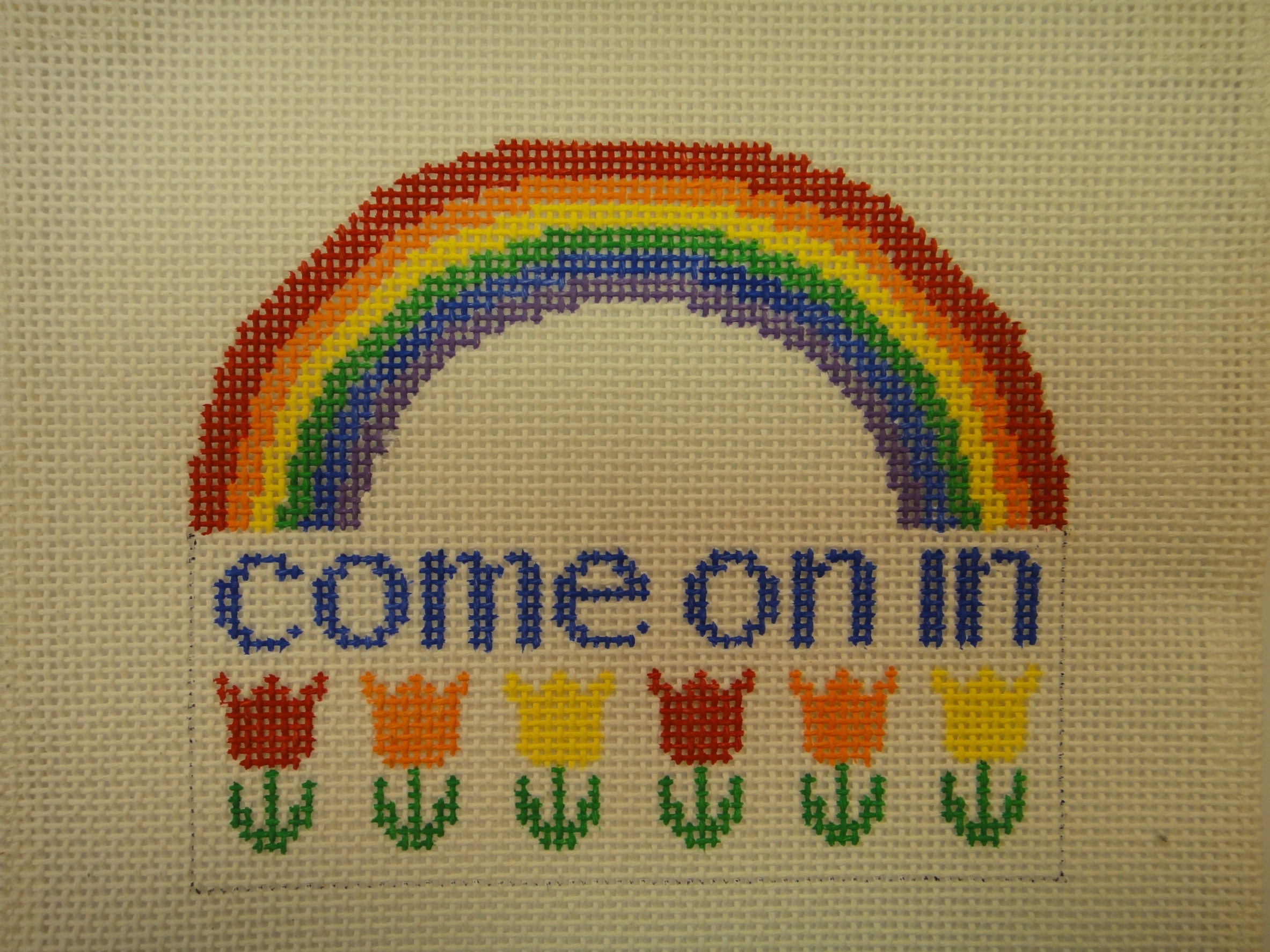 S39 Come On In/Rainbow (5.5x5)