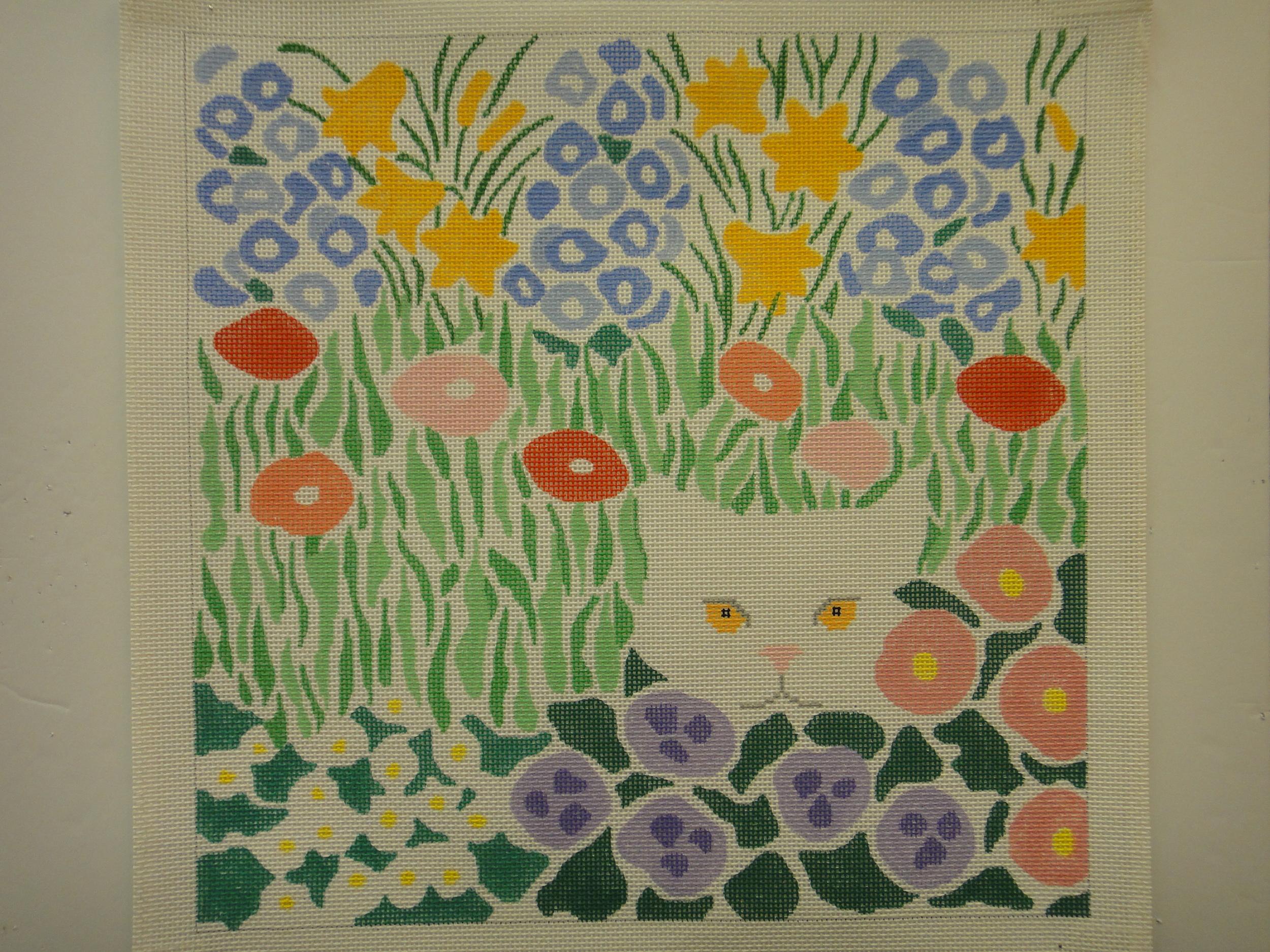 P7 Cat in Garden