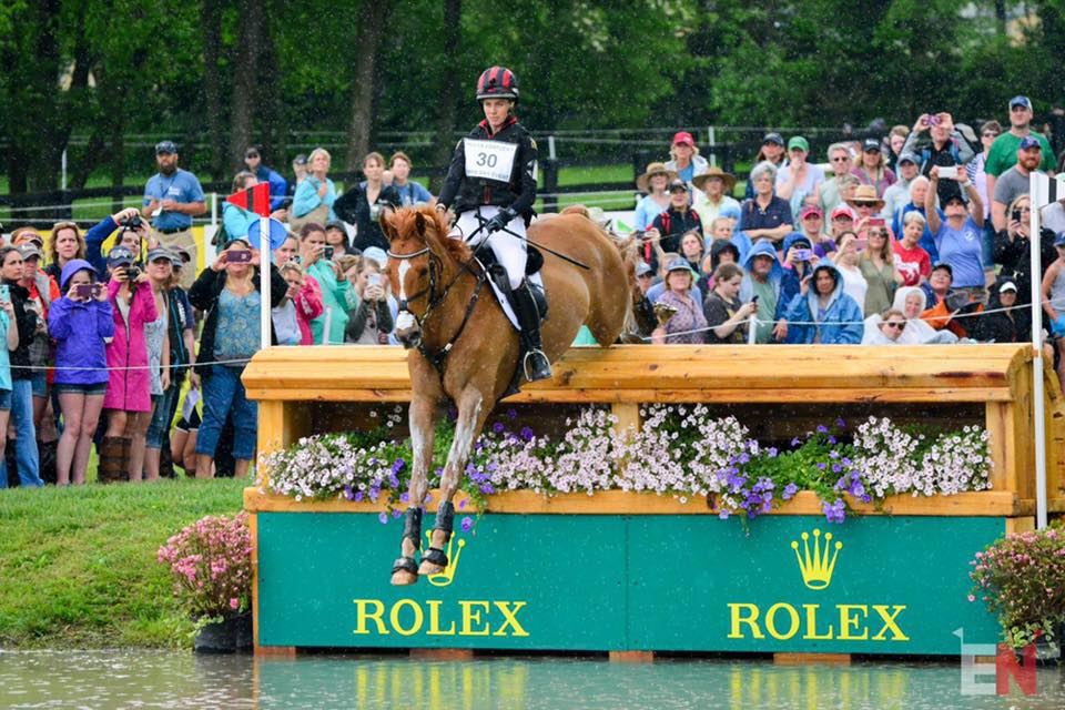 Caroline and Spring Easy at the 2017 Rolex Kentucky Three Day Event / Shannon Brinkman Photography