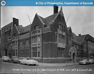 Christian Association    36th and Locust Streets, 1951