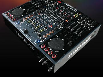 Professional DJ and club mixers, controllers and headphones