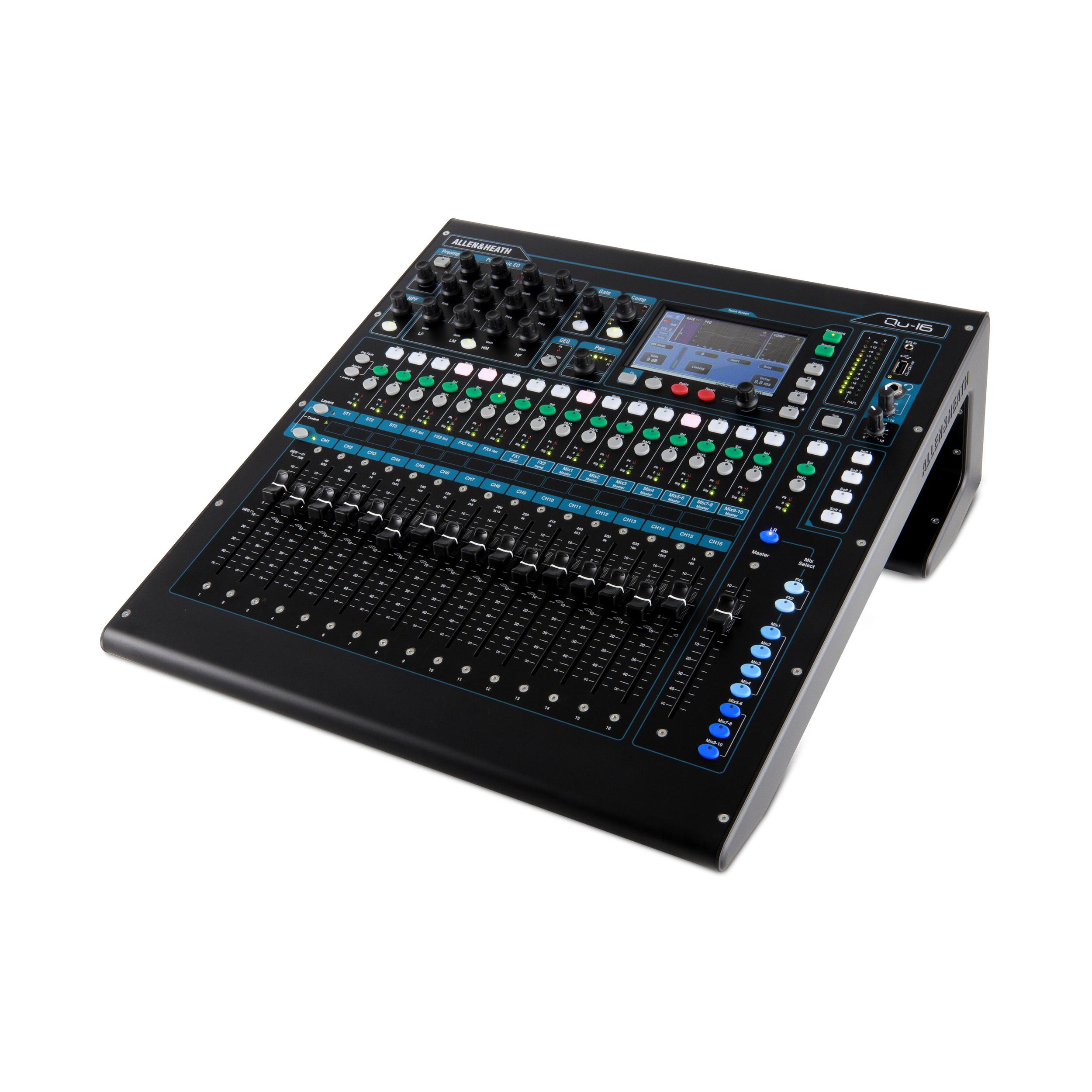 Qu-16 Rackmountable Digital Mixer