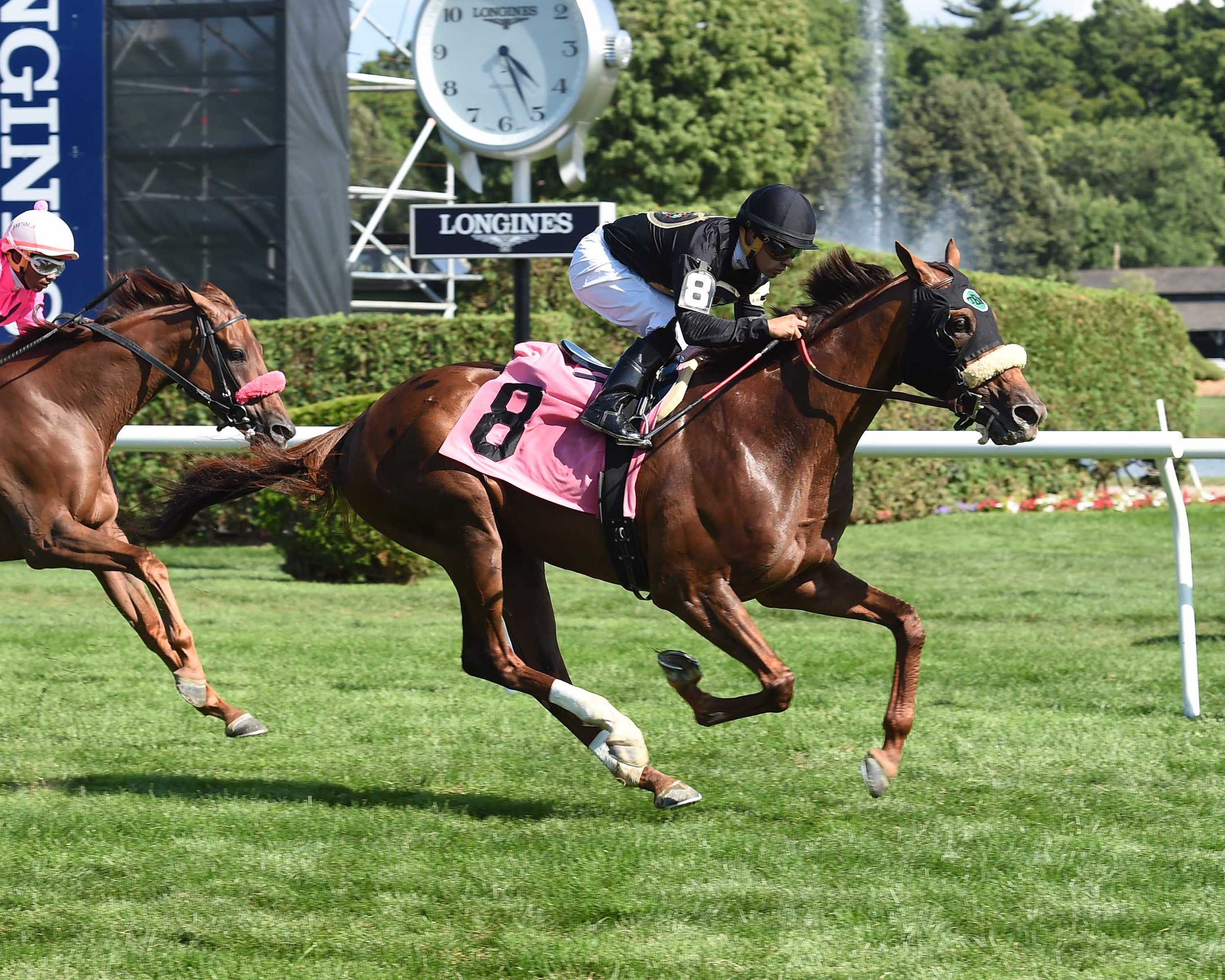 Cliff's of dover - win at Saratoga (August 2016)