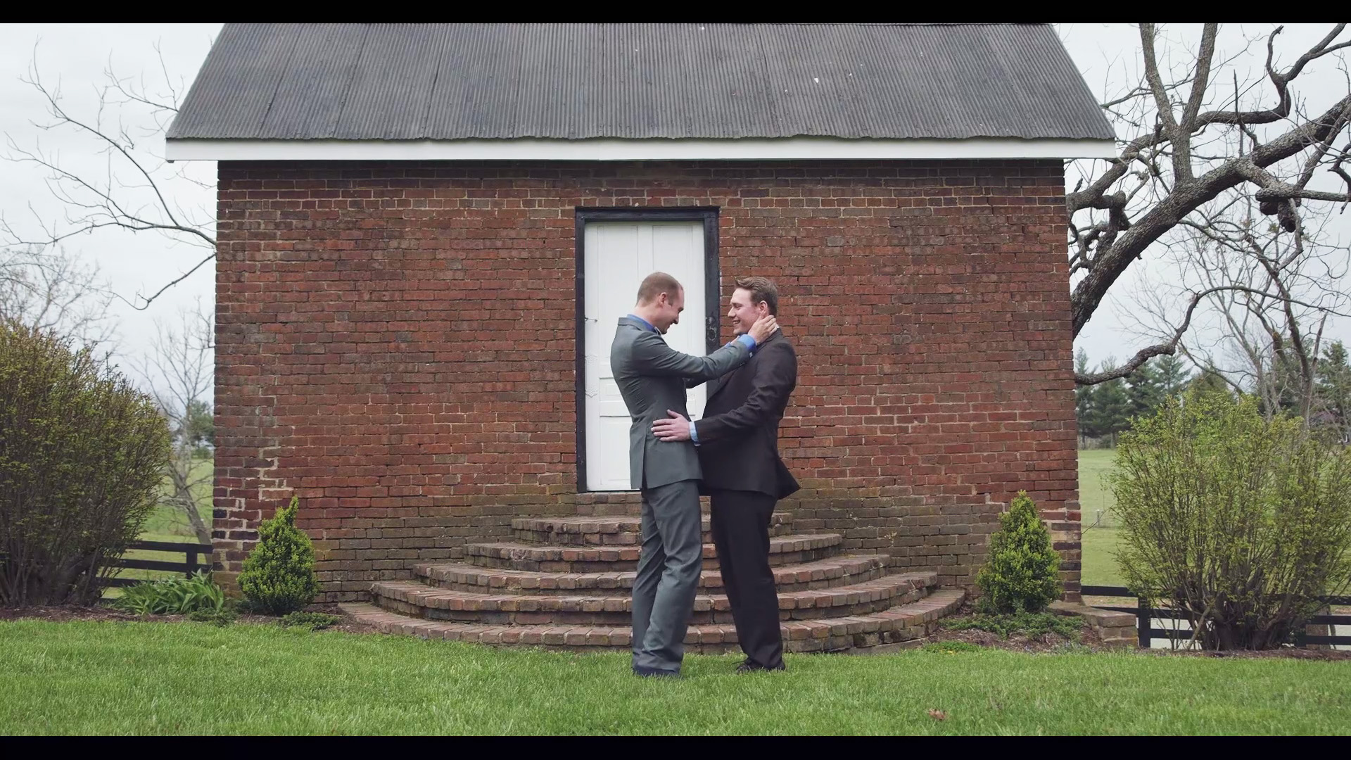 Same-sex first look Kentucky wedding video