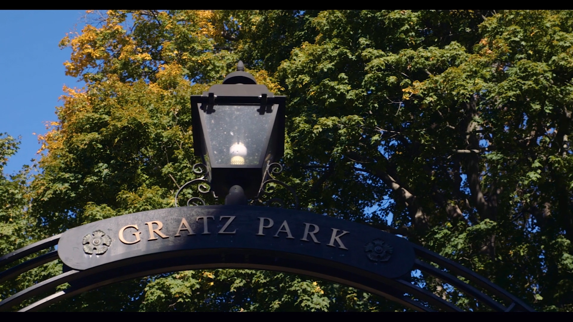 Gratz Park in downtown Lexington, Kentucky. Kentucky Wedding Video