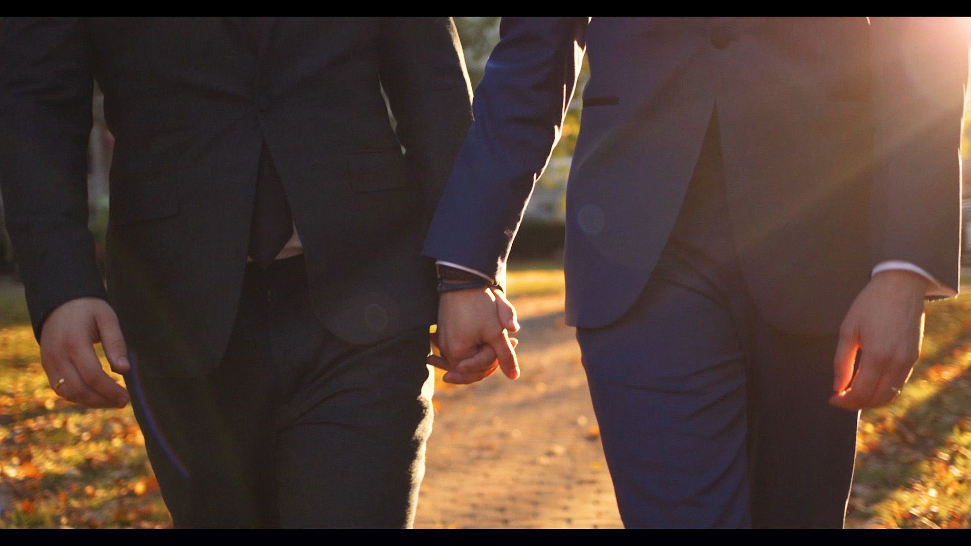Sunset same-sex wedding video in Lexington, Kentucky.