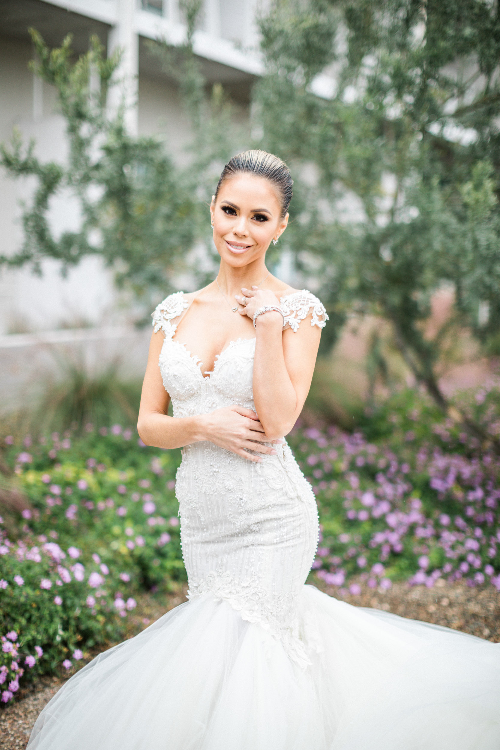 Mountain shadows wedding bridal portrait scottsdale arizona