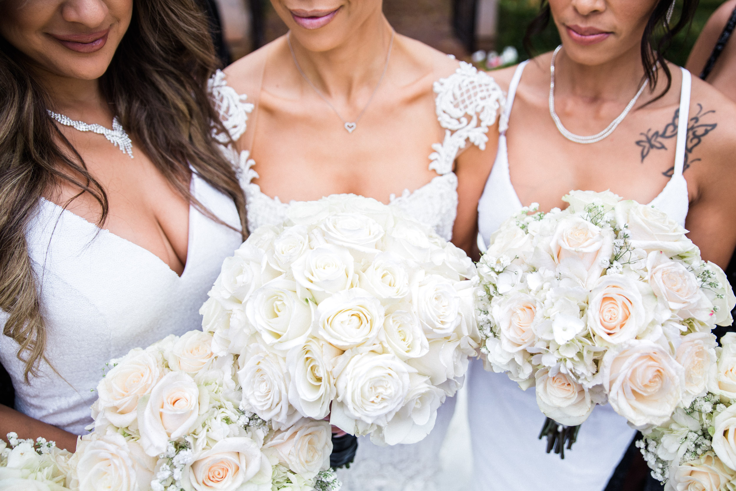 Villa siena bridesmaids wedding bouquet