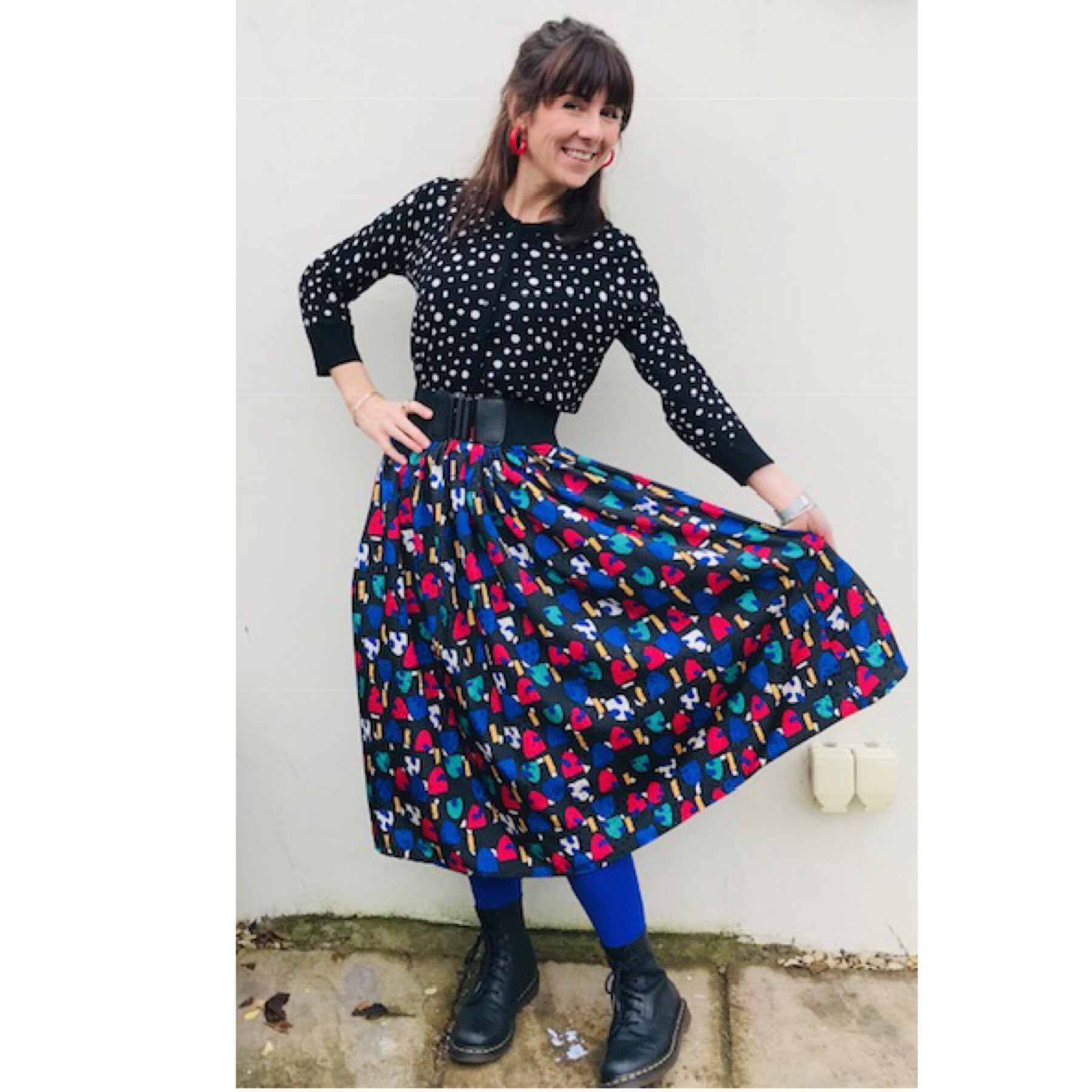 Ayla in her Miro Full Skirt