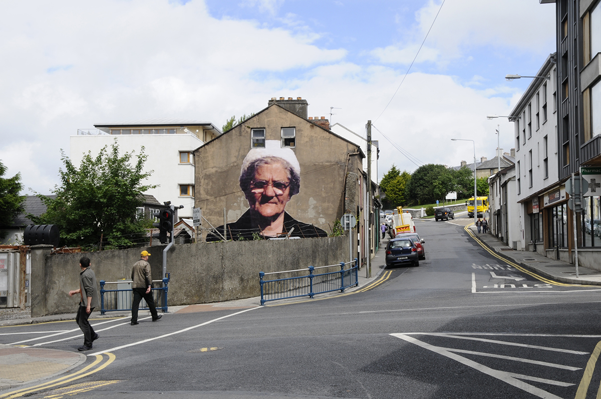 Image of 'Hill' matriarch Nancy Callaghan at Holborn Street.