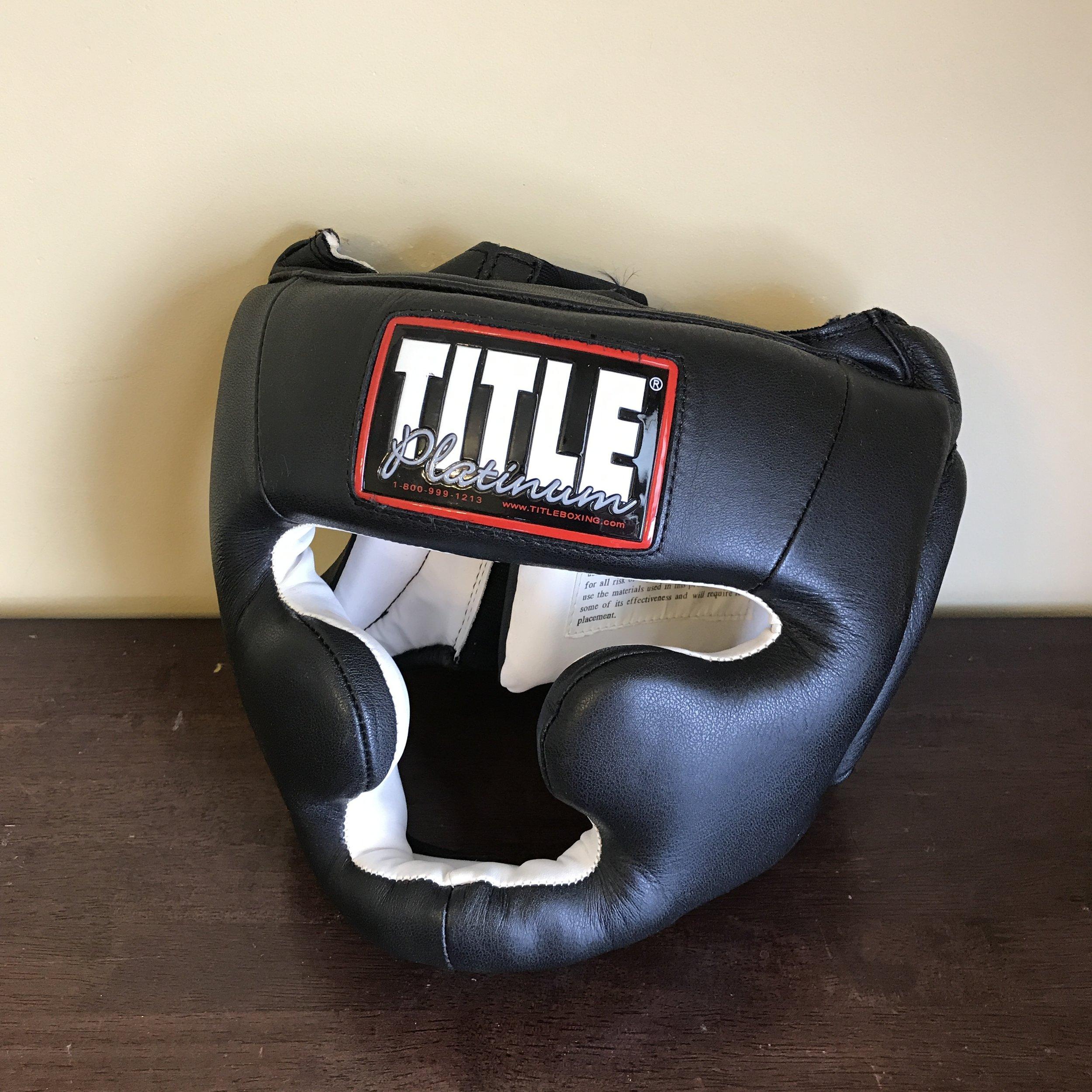 Title boxing headgear
