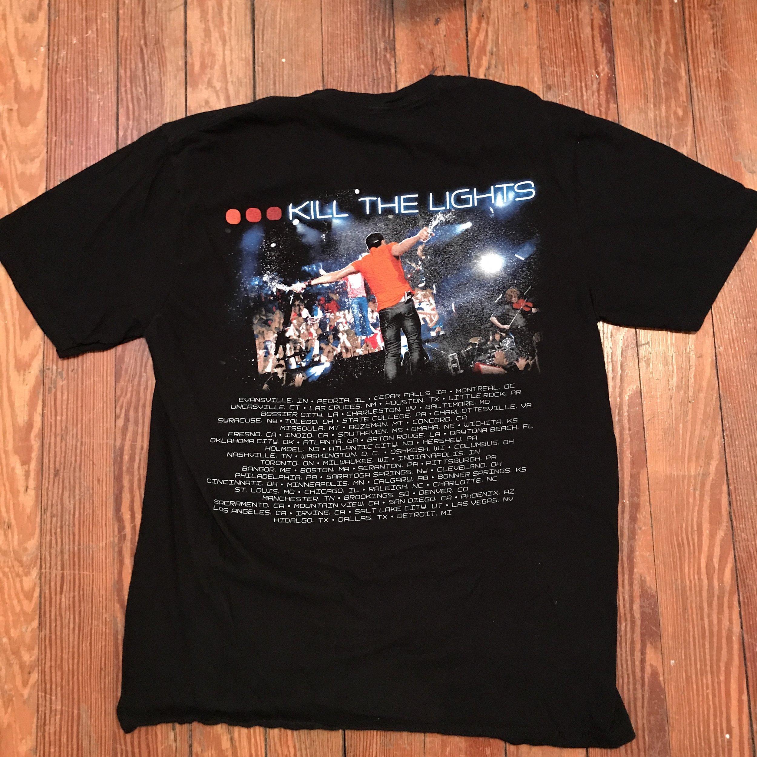Luke Bryan Concert t-shirt