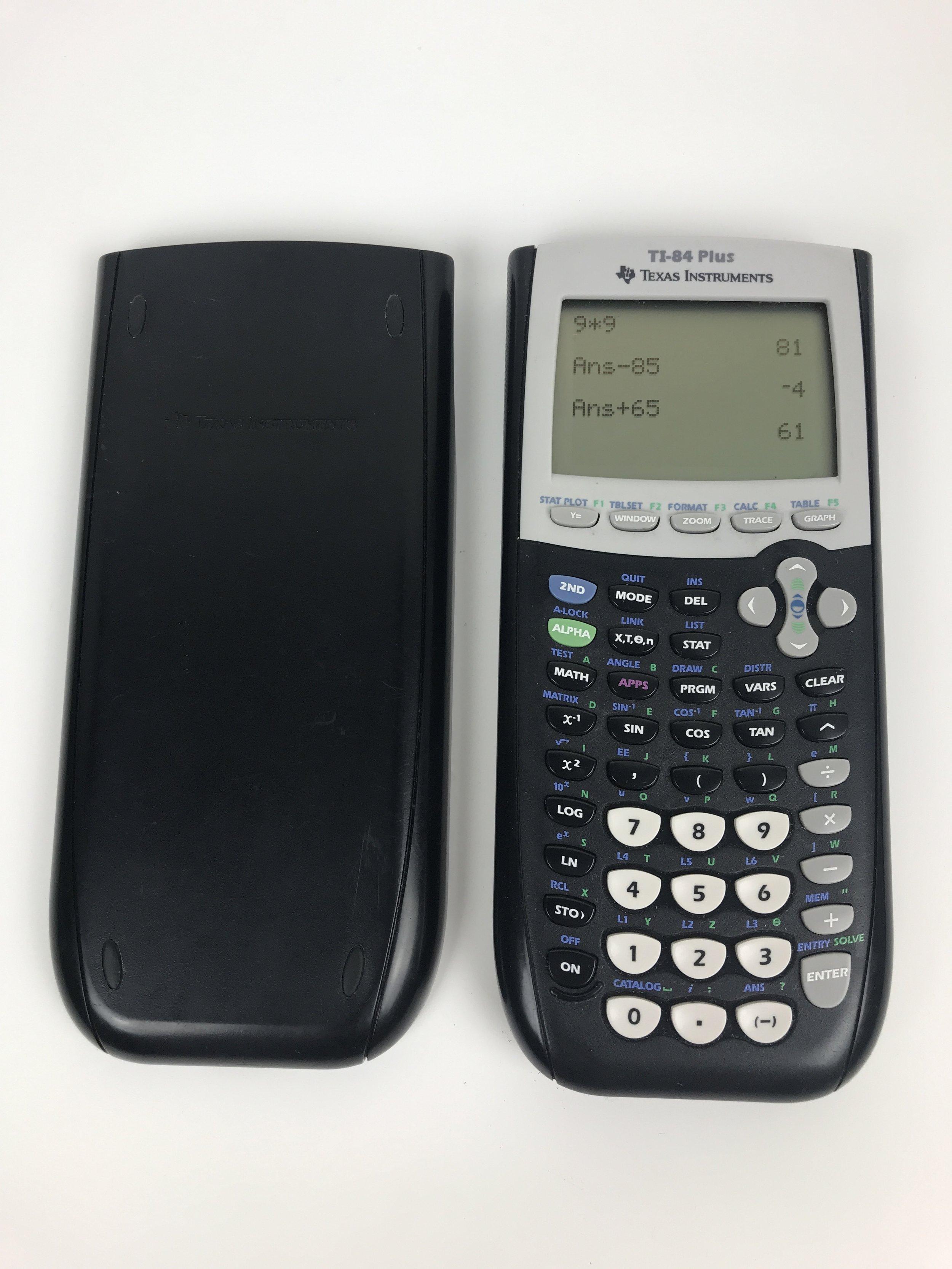 TI-84 Plus Calculator