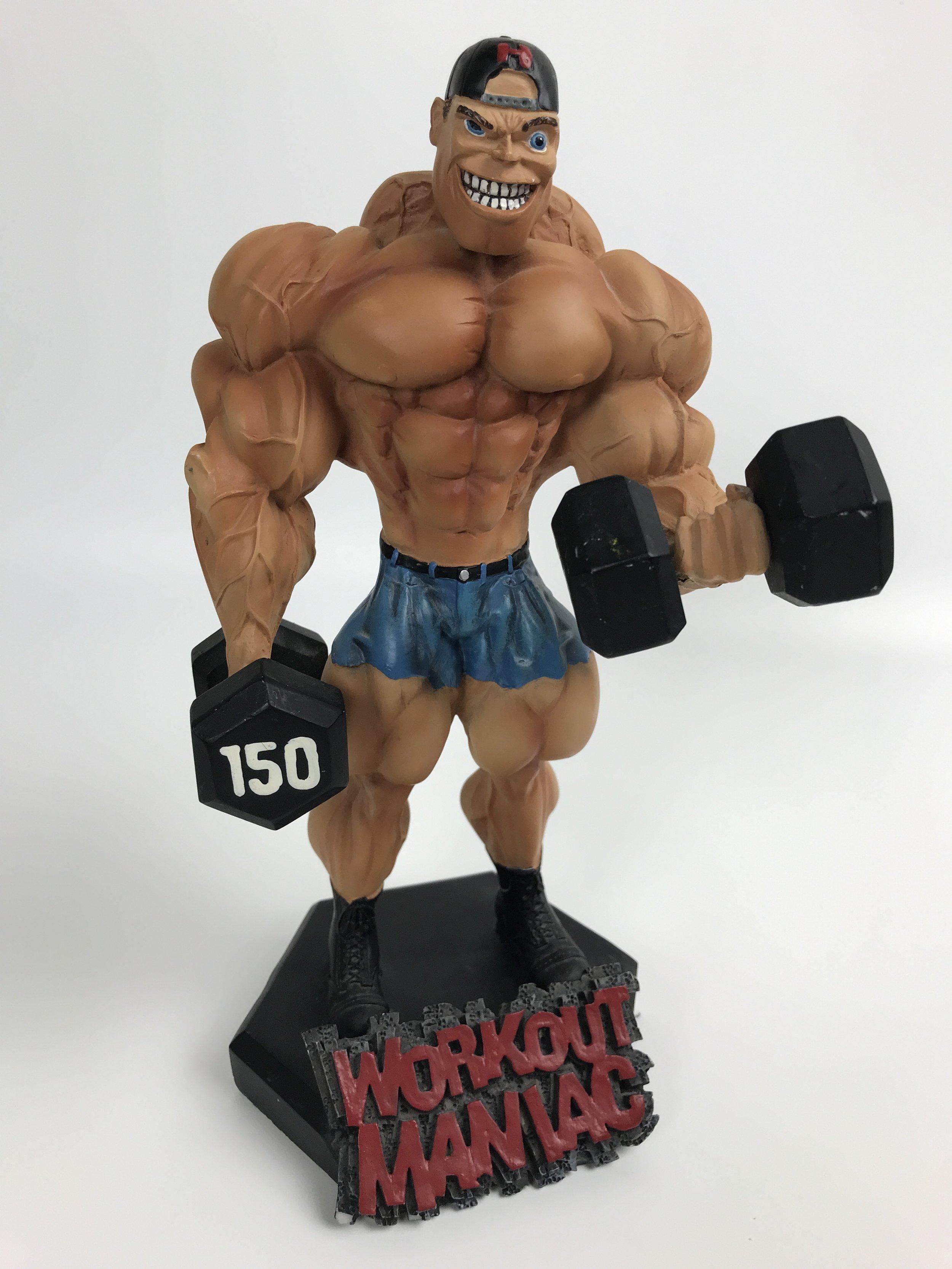 Workout Maniac statue