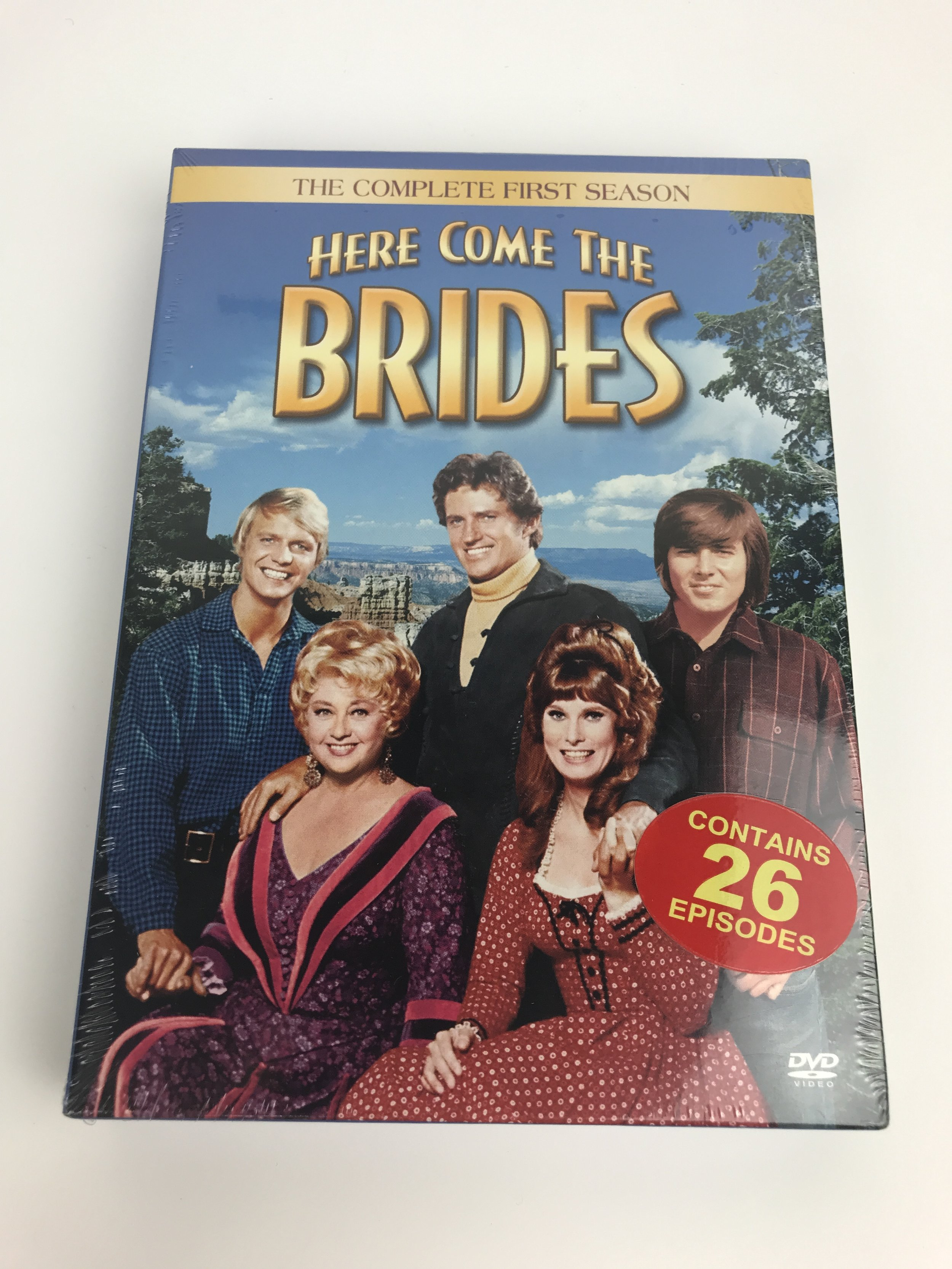 Here Come the Brides DVD set
