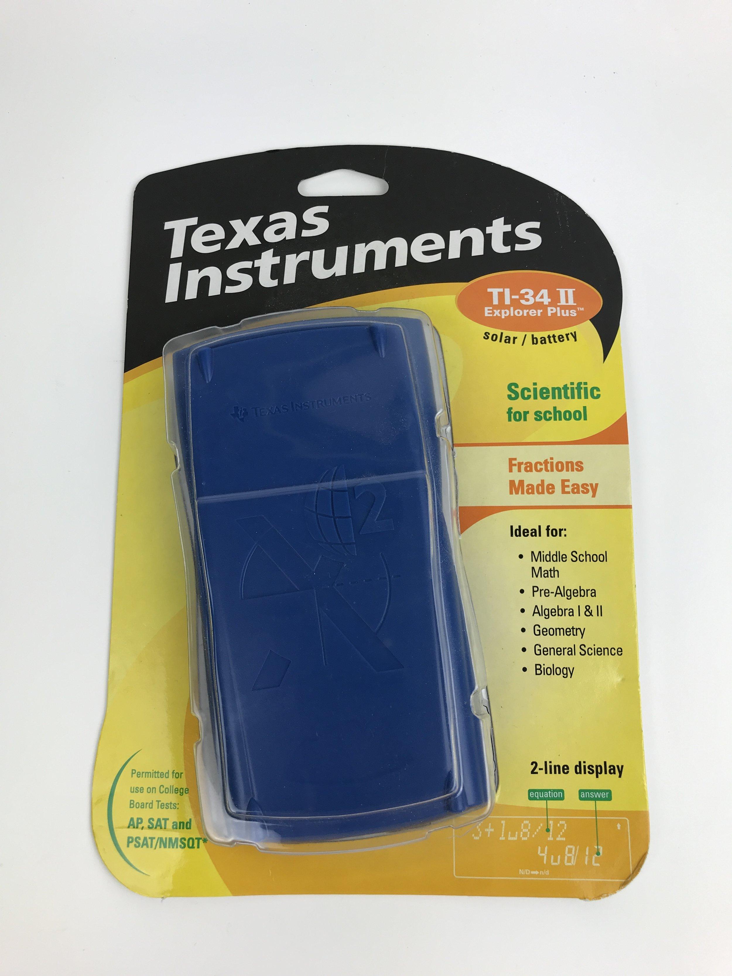 Texas Instruments calculator (open)