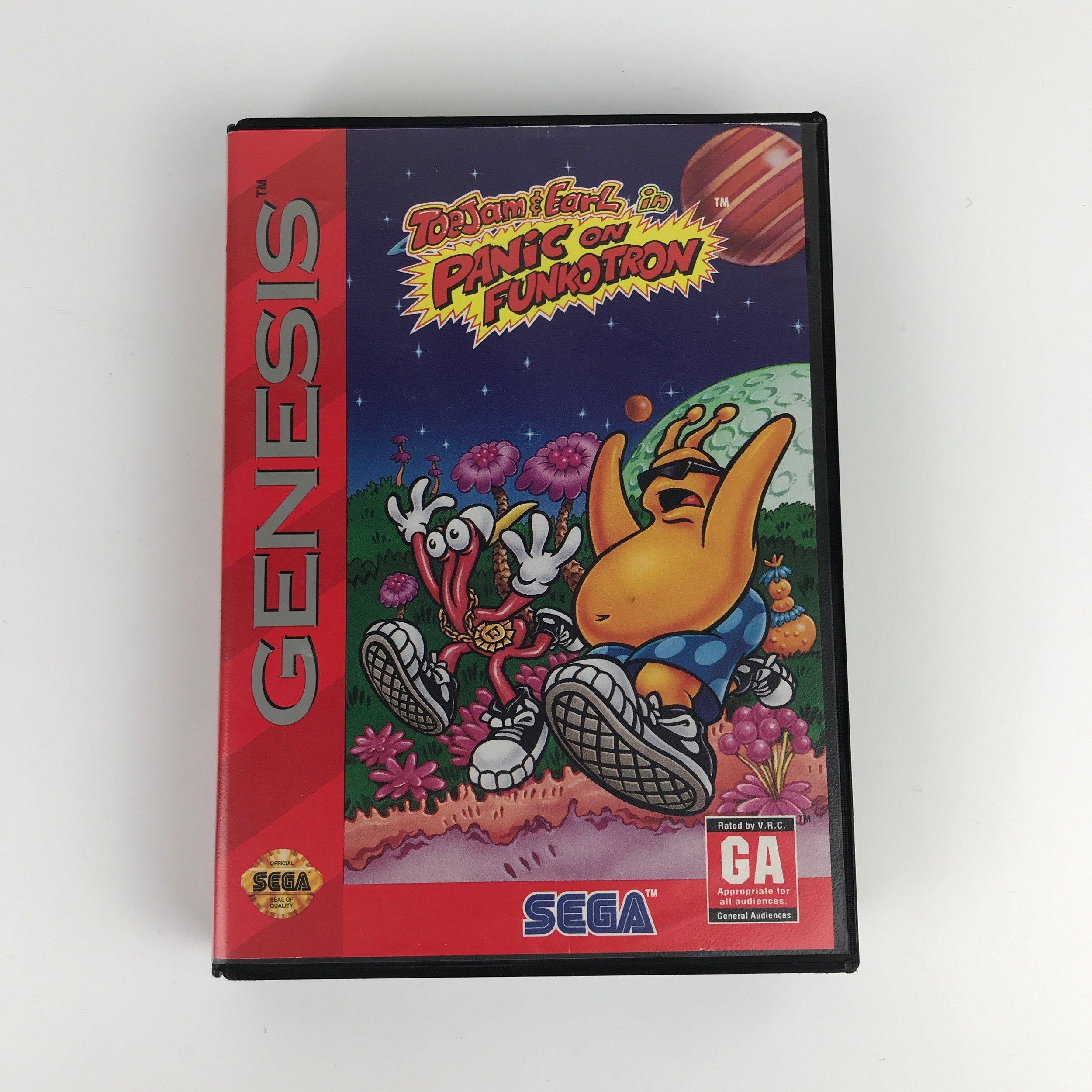 Toejam & Earl - Sega Genesis game