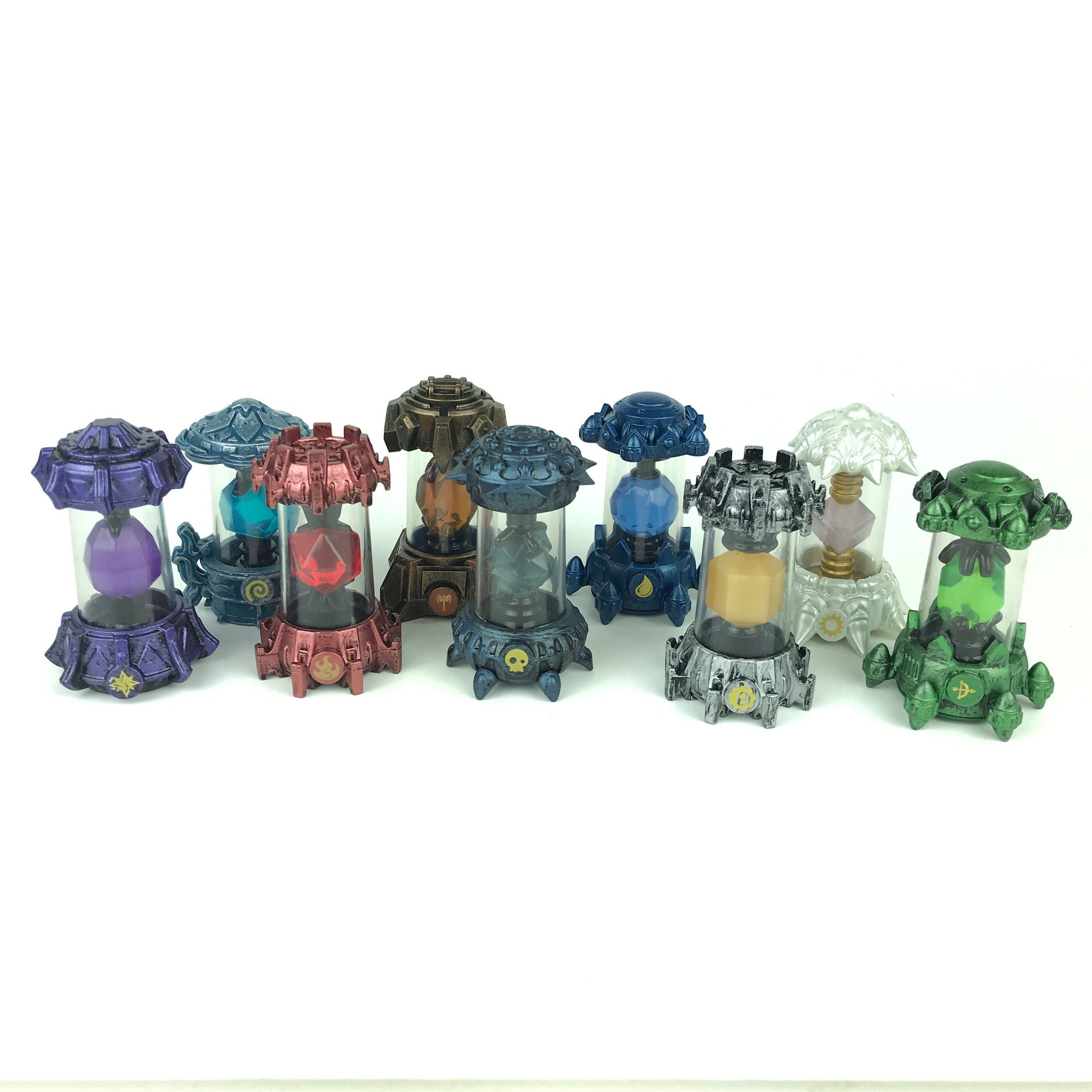 Skylander crystal lot