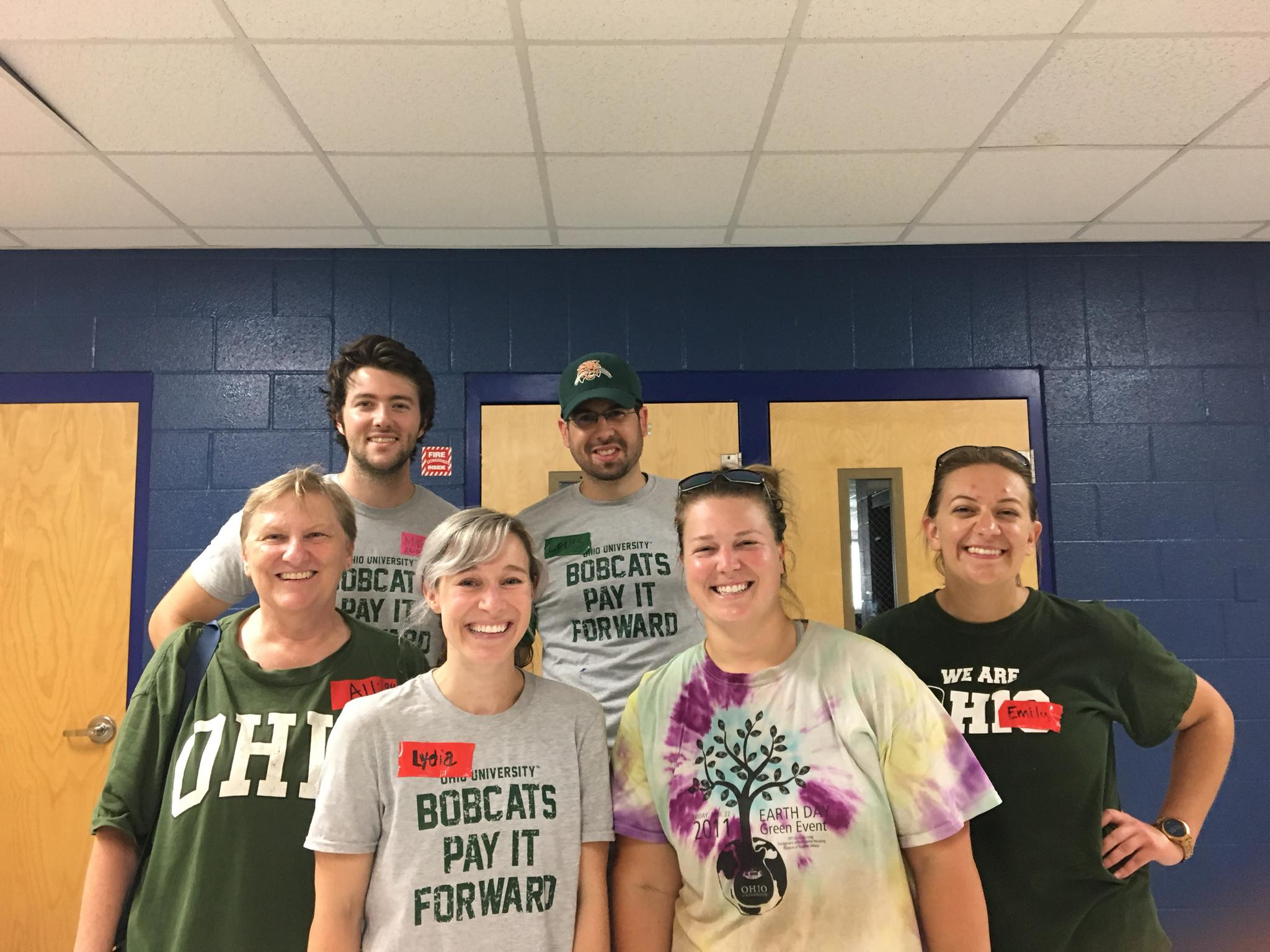 Bobcats of Middle Tennessee gather to support Hands on Nashville Day 2018