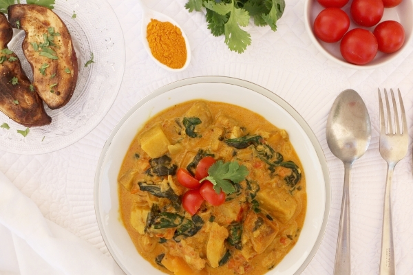 poisson curry curcuma