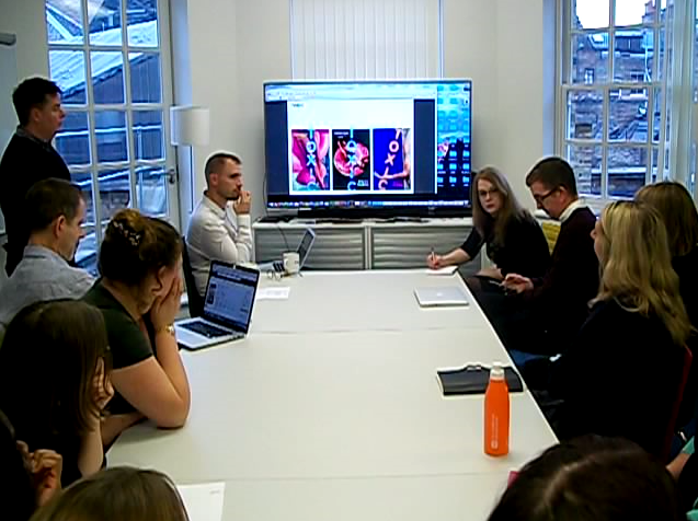 Toxic being discussed in the cover meeting