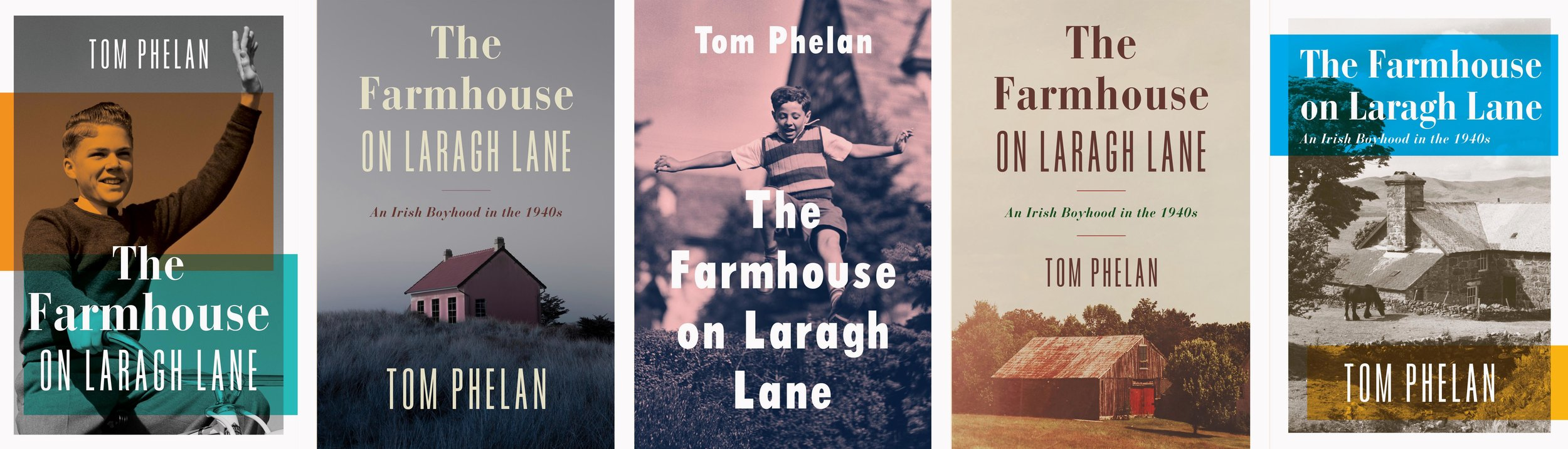 While living in Costa Rica, I worked on various books including  The Farmhouse on Laragh Lane , for Simon & Schuster.