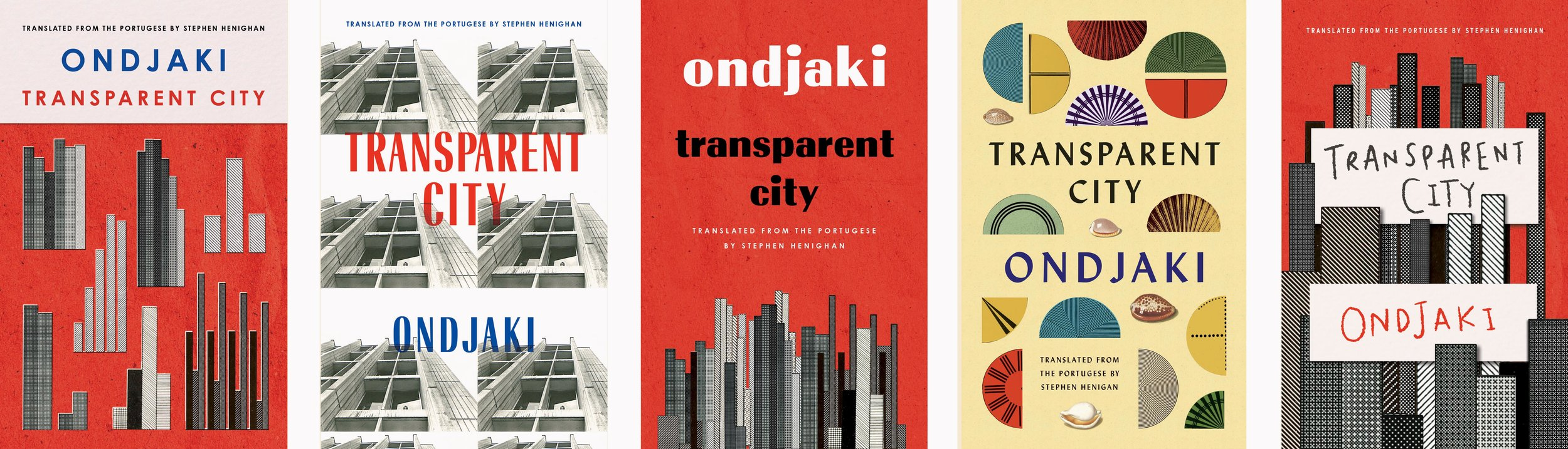In January, I designed Transparent City for Biblioasis while living in Nicaragua.