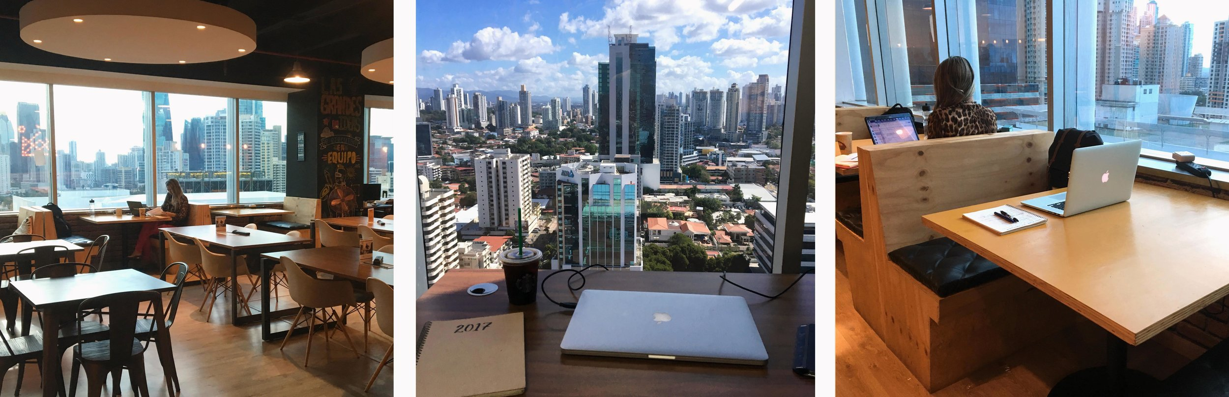 Workings office spaces in   Panama City
